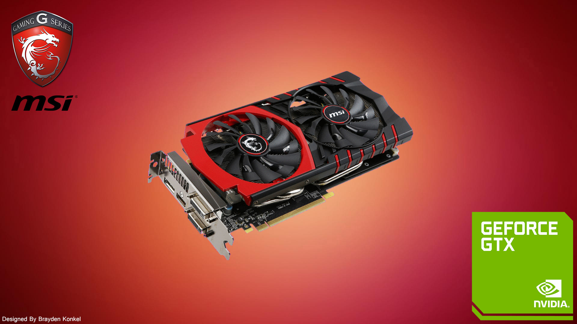 … TheCaptainFirefly MSI GTX 980/970/960 GAMING Wallpaper by  TheCaptainFirefly