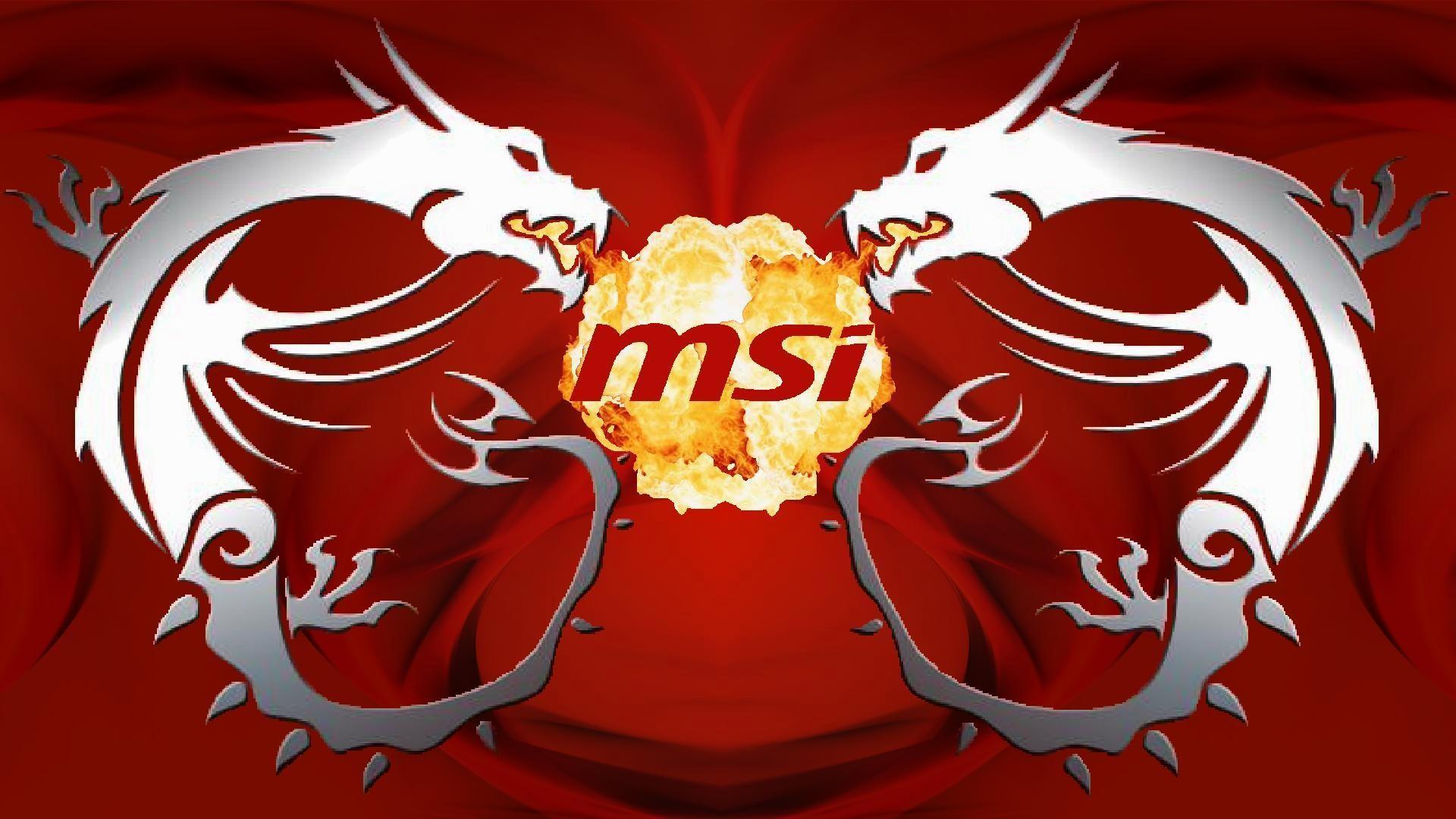 MSI, Dragon, Logo, PC Gaming, Technology, Hardware, Texture .
