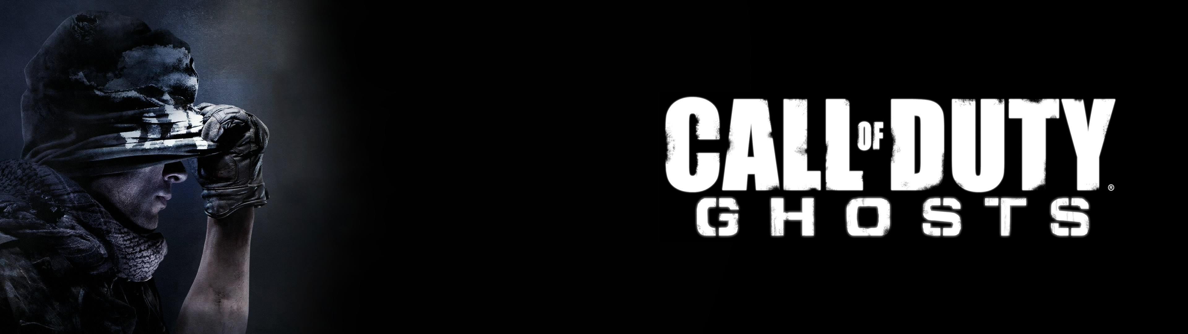 Made a COD Ghosts dual monitor wallpaper – …