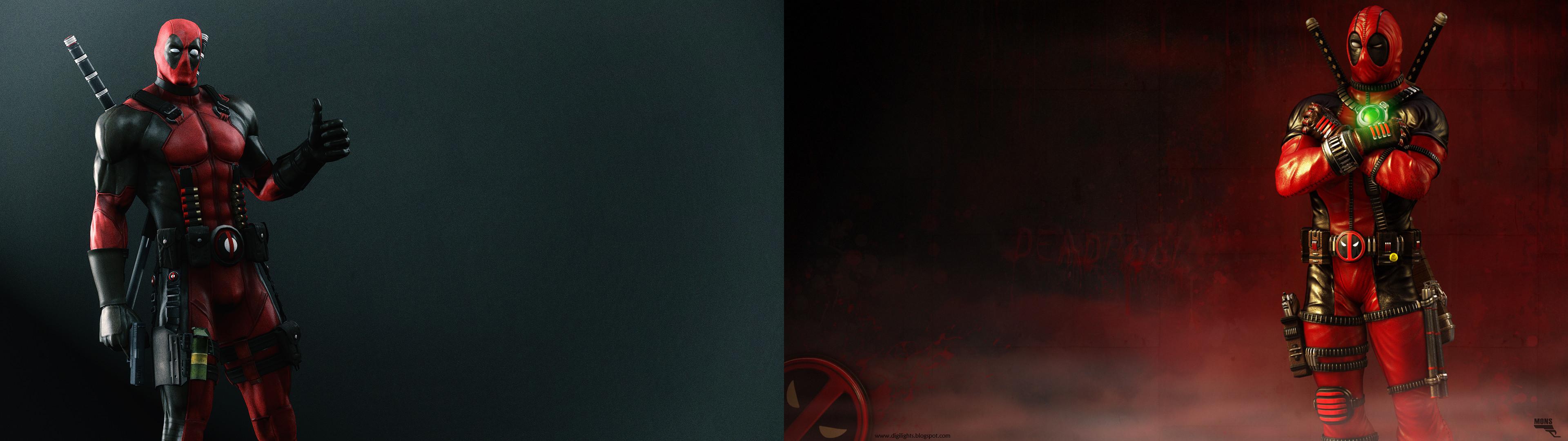 Deadpool Wallpaper (Dual Monitor, 3840 X 1080) …