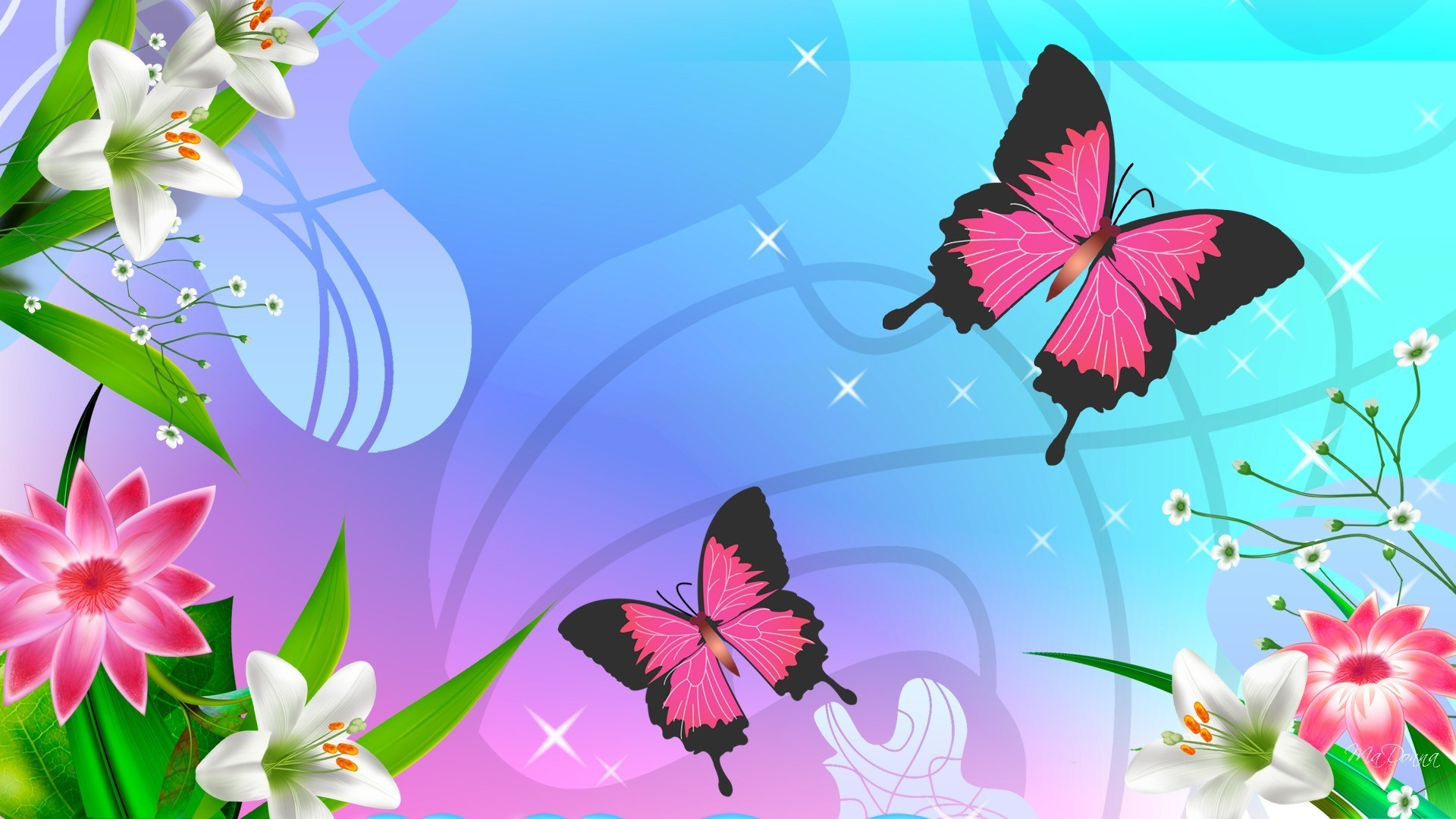Download From Cute Butterfly Wallpaper | Full HD Wallpapers