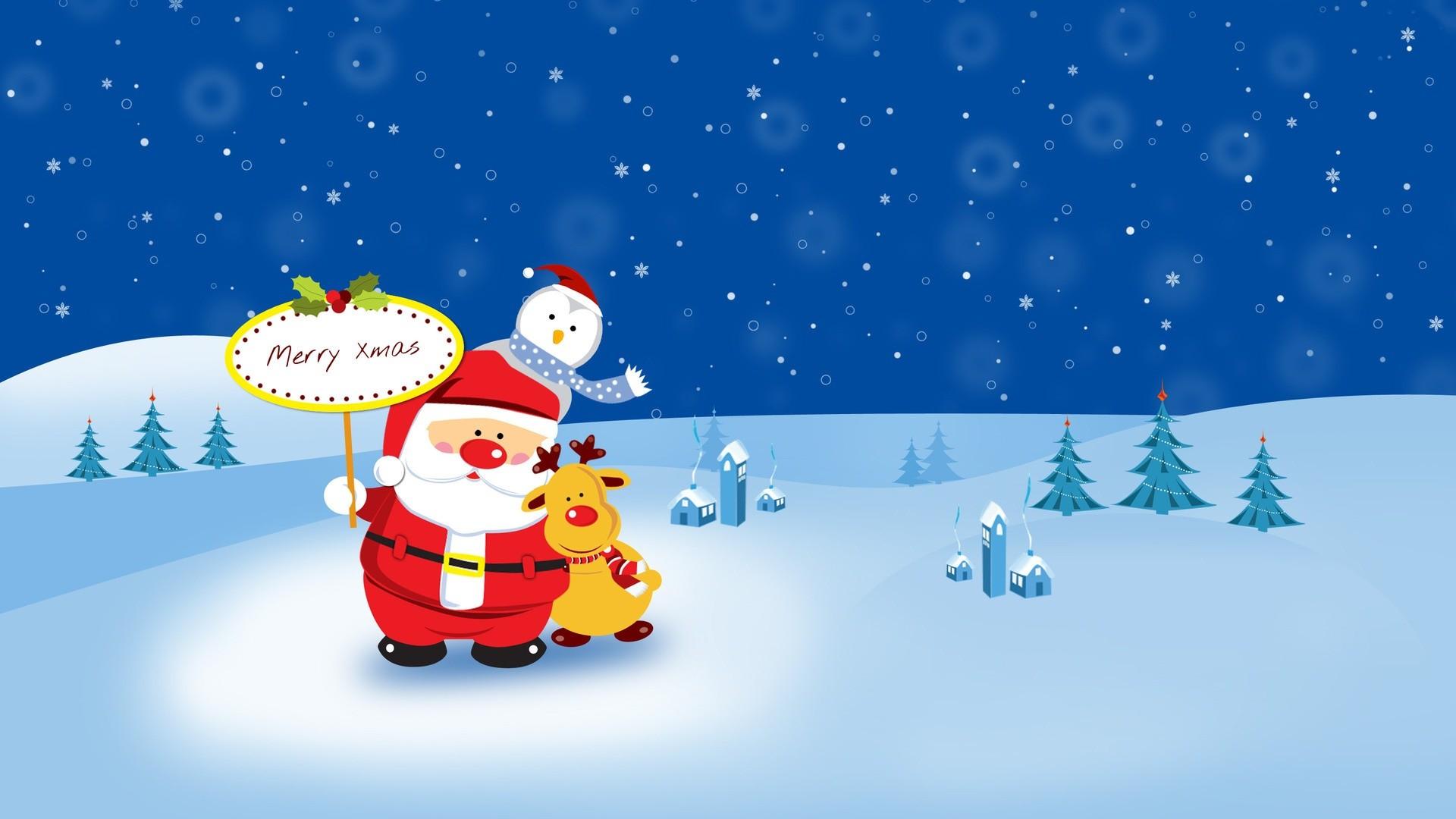 <b>Cute</b> Santa <b>Wallpapers</b
