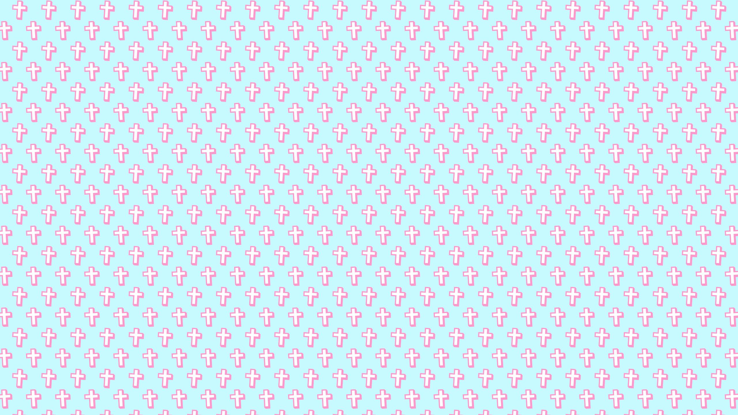 this Cute Crosses Desktop Wallpaper is easy. Just save the wallpaper .