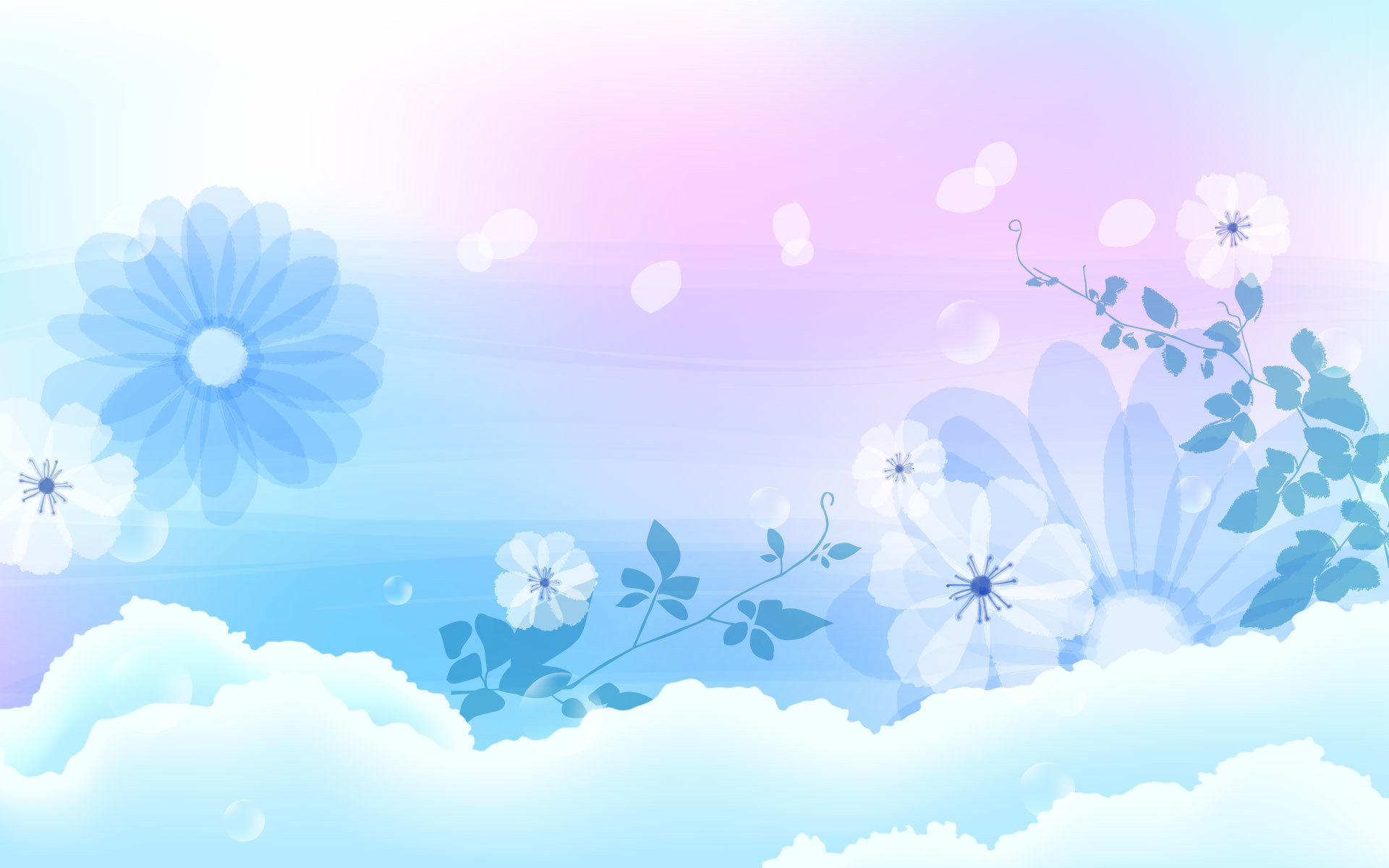… Cute Blue Wallpapers …