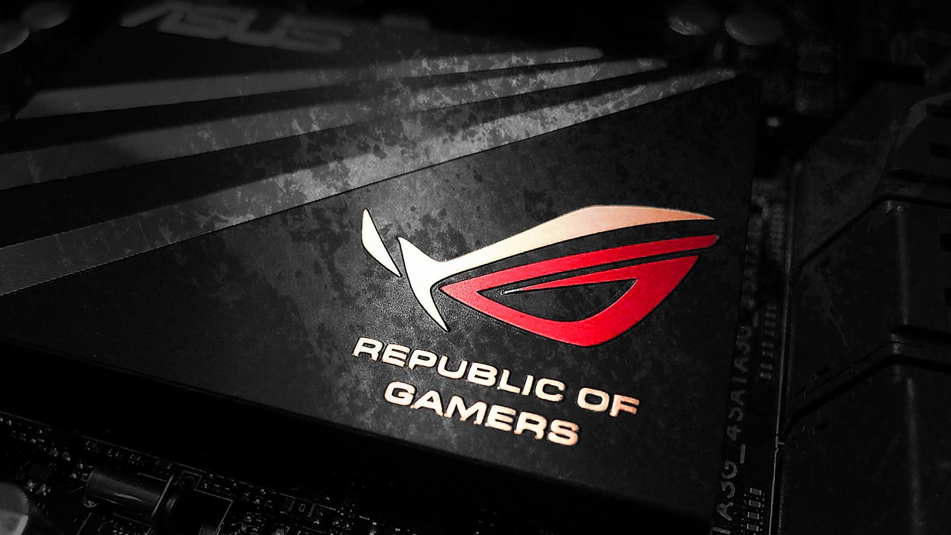 Download 1680×1050 Asus, Republic Of Gamers, Logo, Rog Wallpapers .