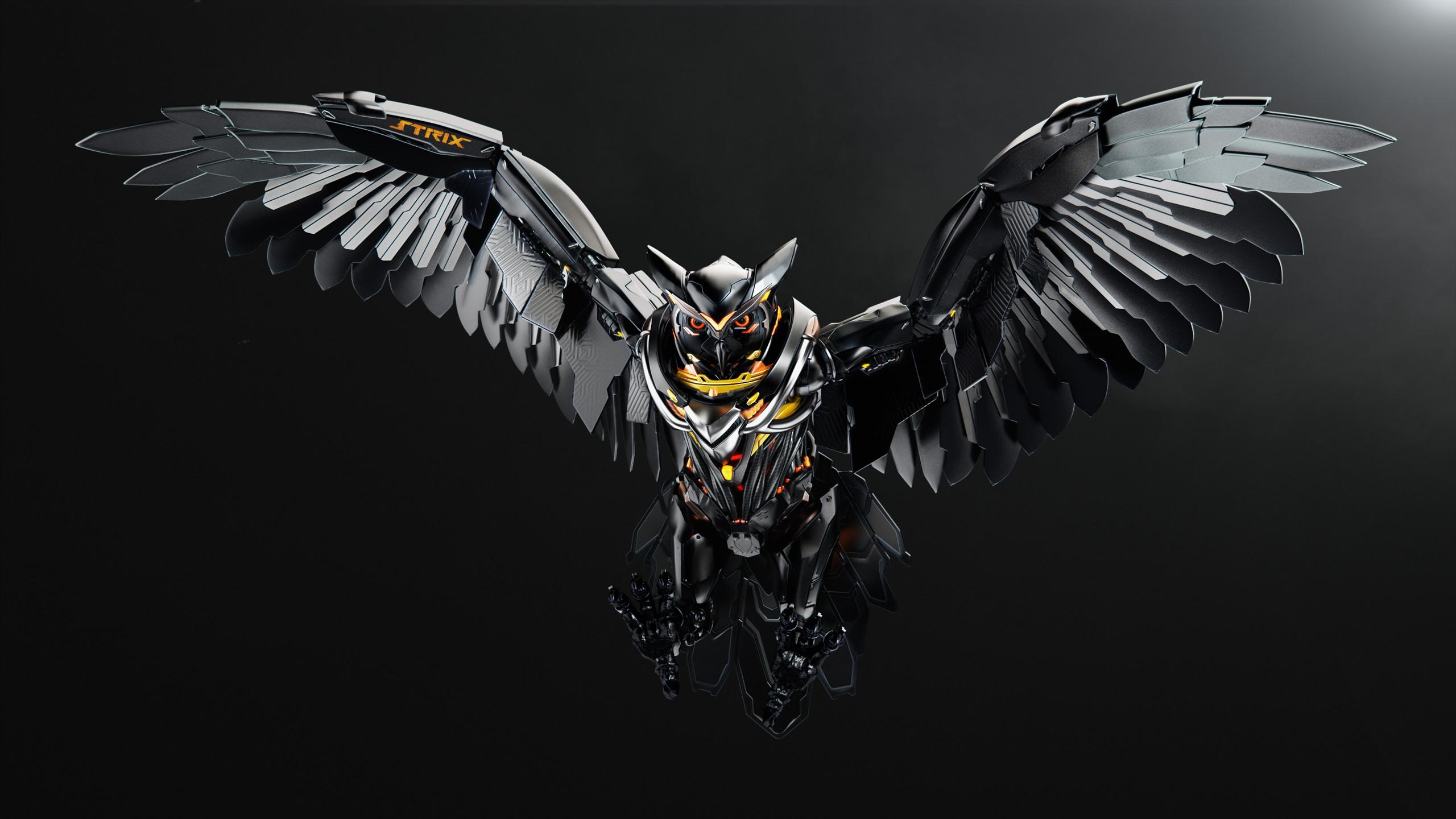 DownloadStrix Owl Wallpaper