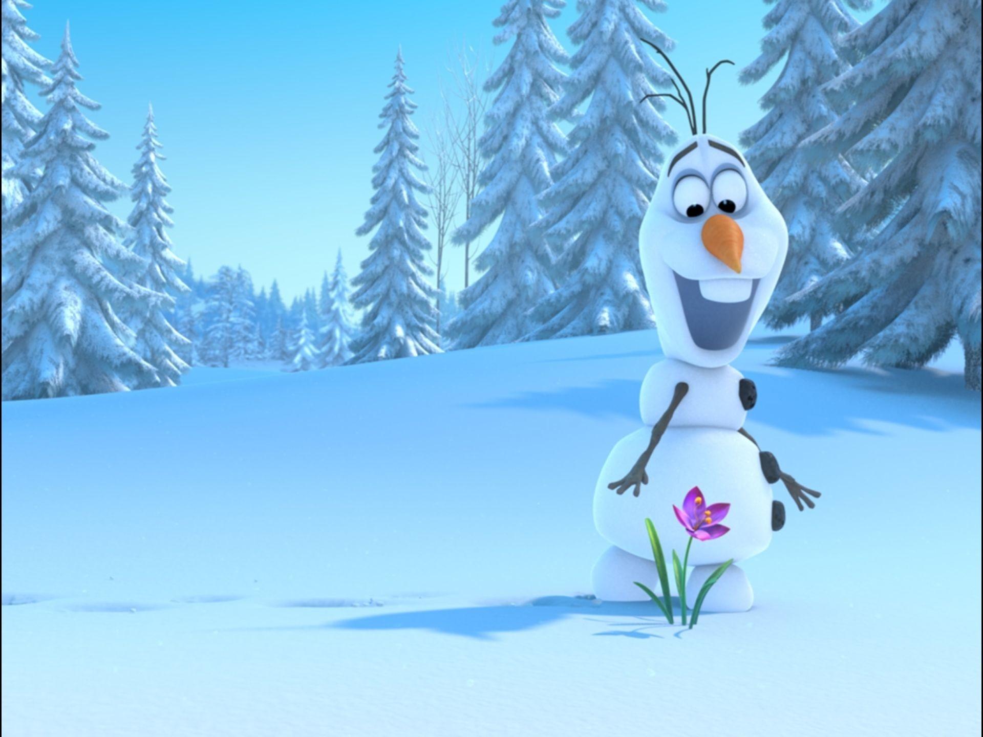 Disney Frozen Olaf HD Wallpaper Image for Tablet