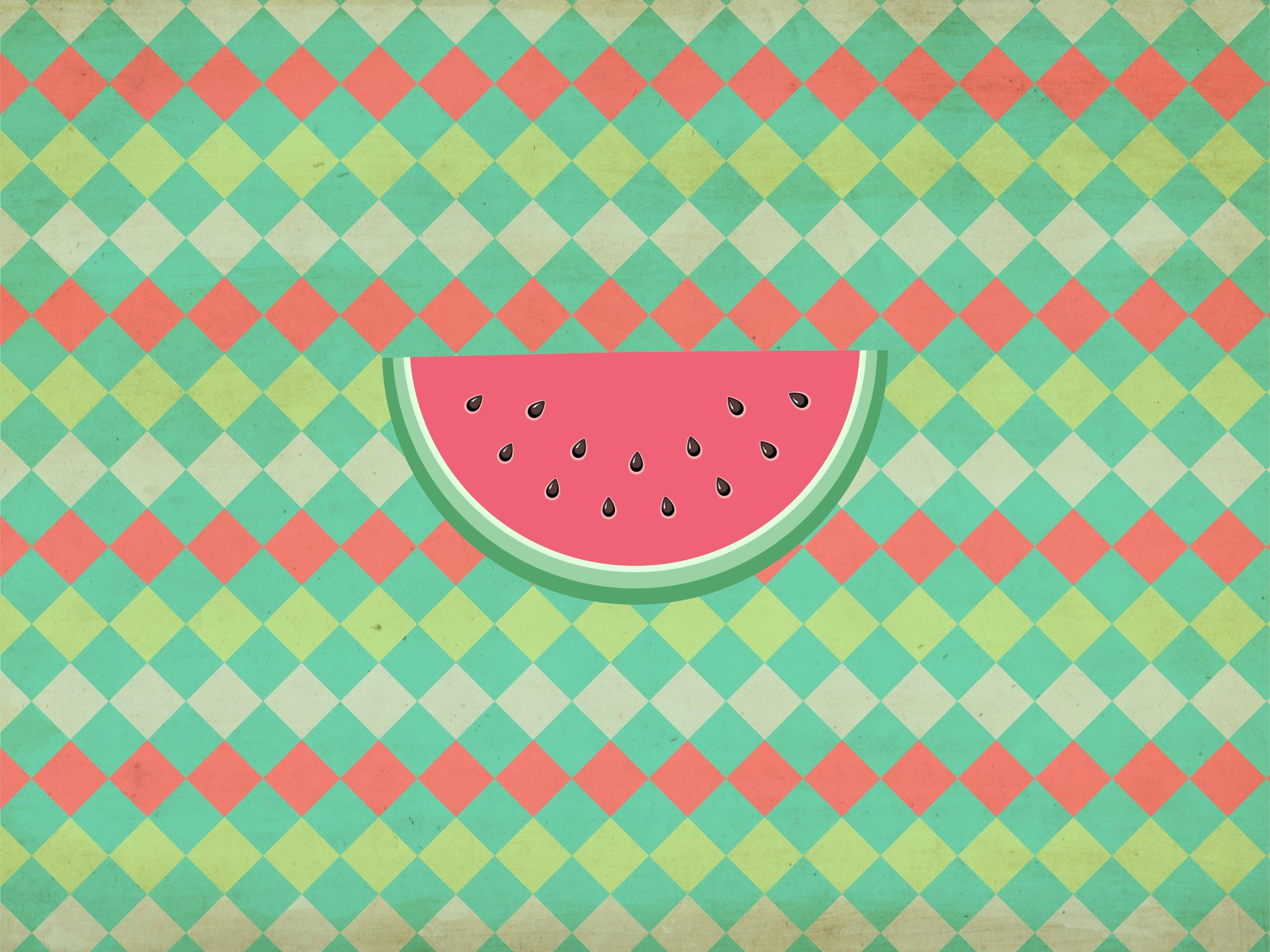 Watermelon wallpaper for Ipads and tablet so sweet and cute.Feel free to  use.