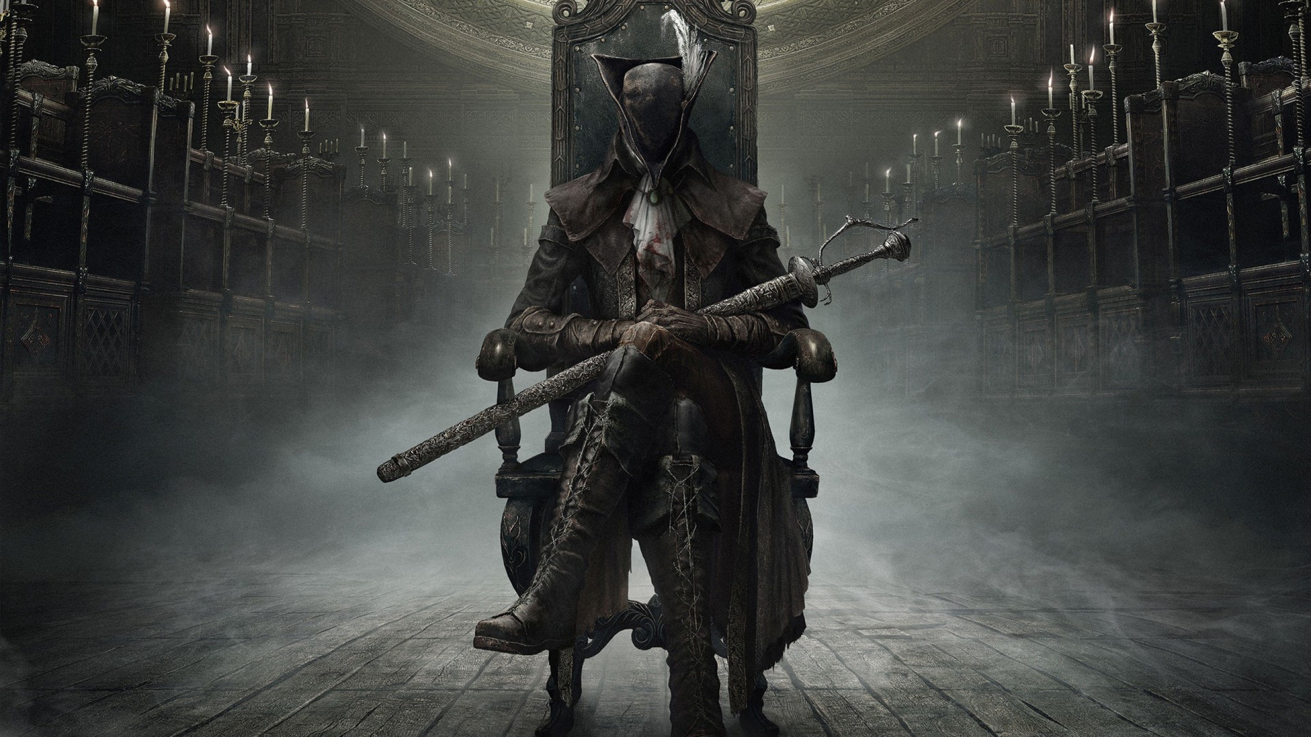 Wallpaper bloodborne, from software, weapons, art