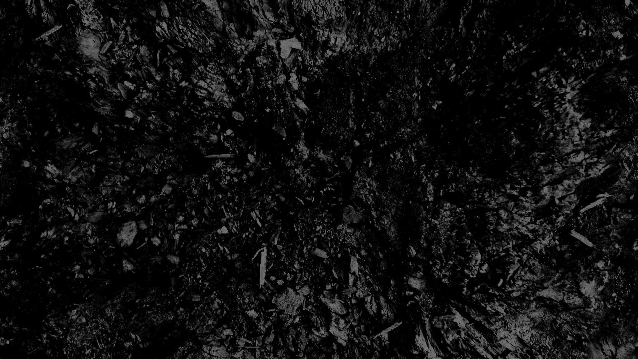 Preview wallpaper dark, black and white, abstract, black background  2048×1152