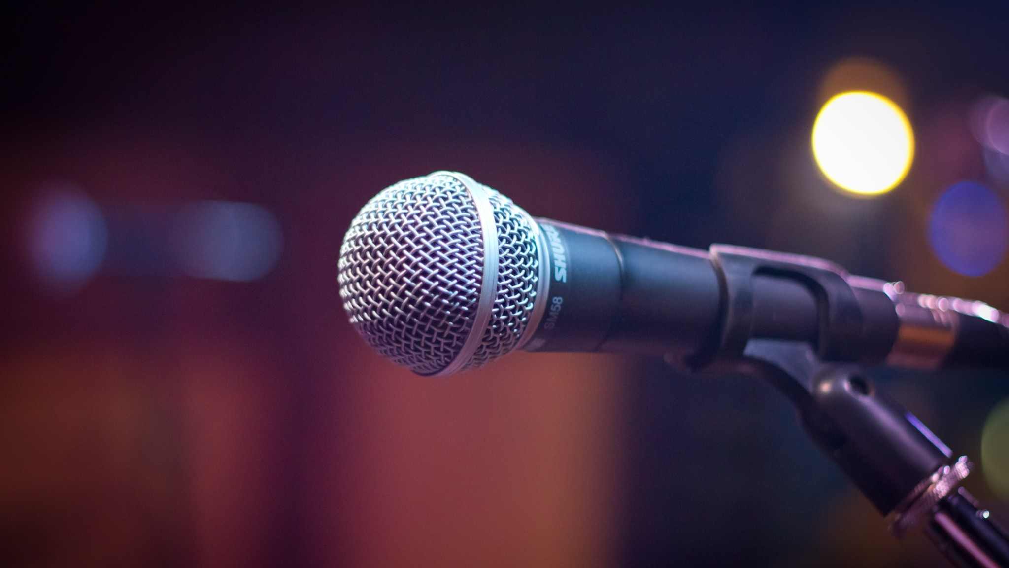 Preview wallpaper microphone, sound, music 2048×1152