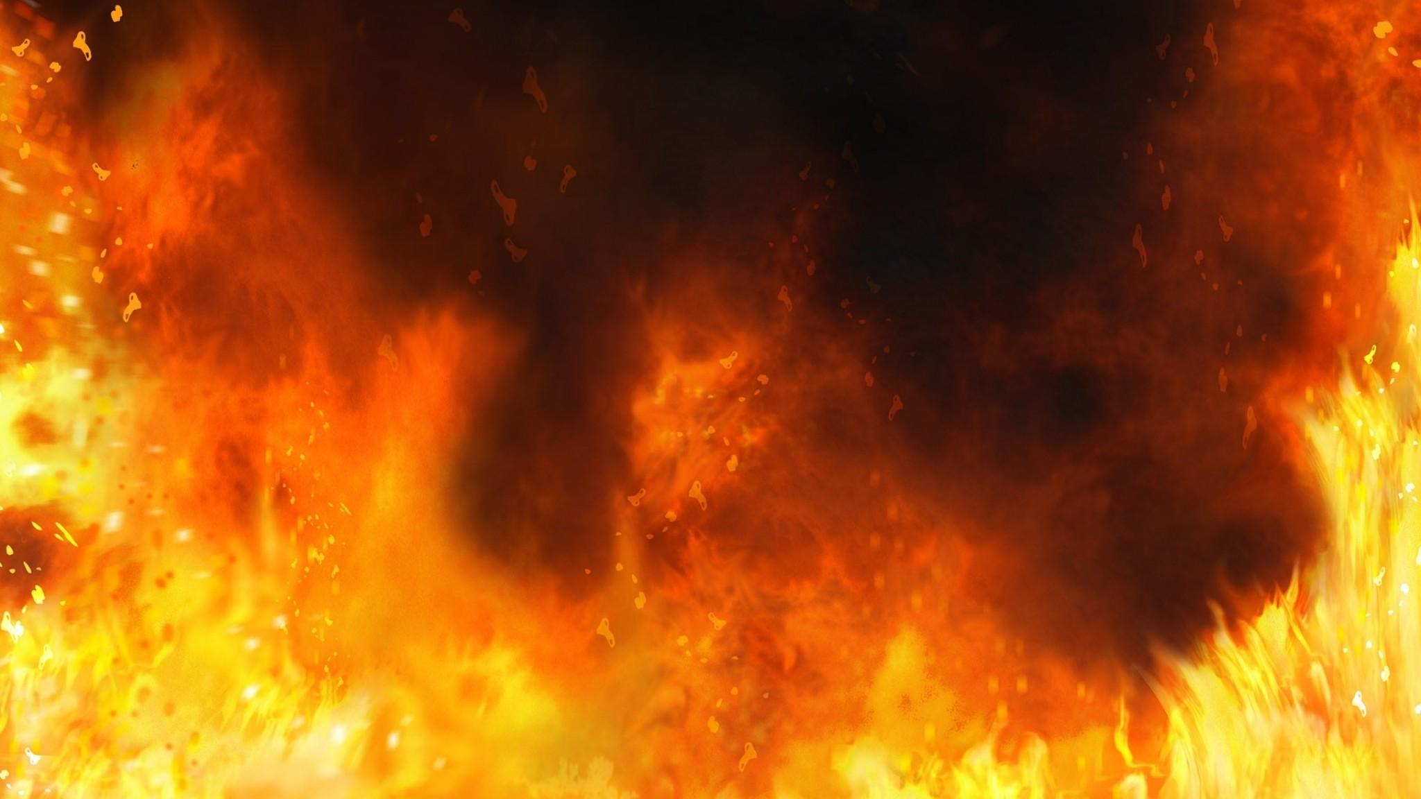 Wallpaper fire, background, flames