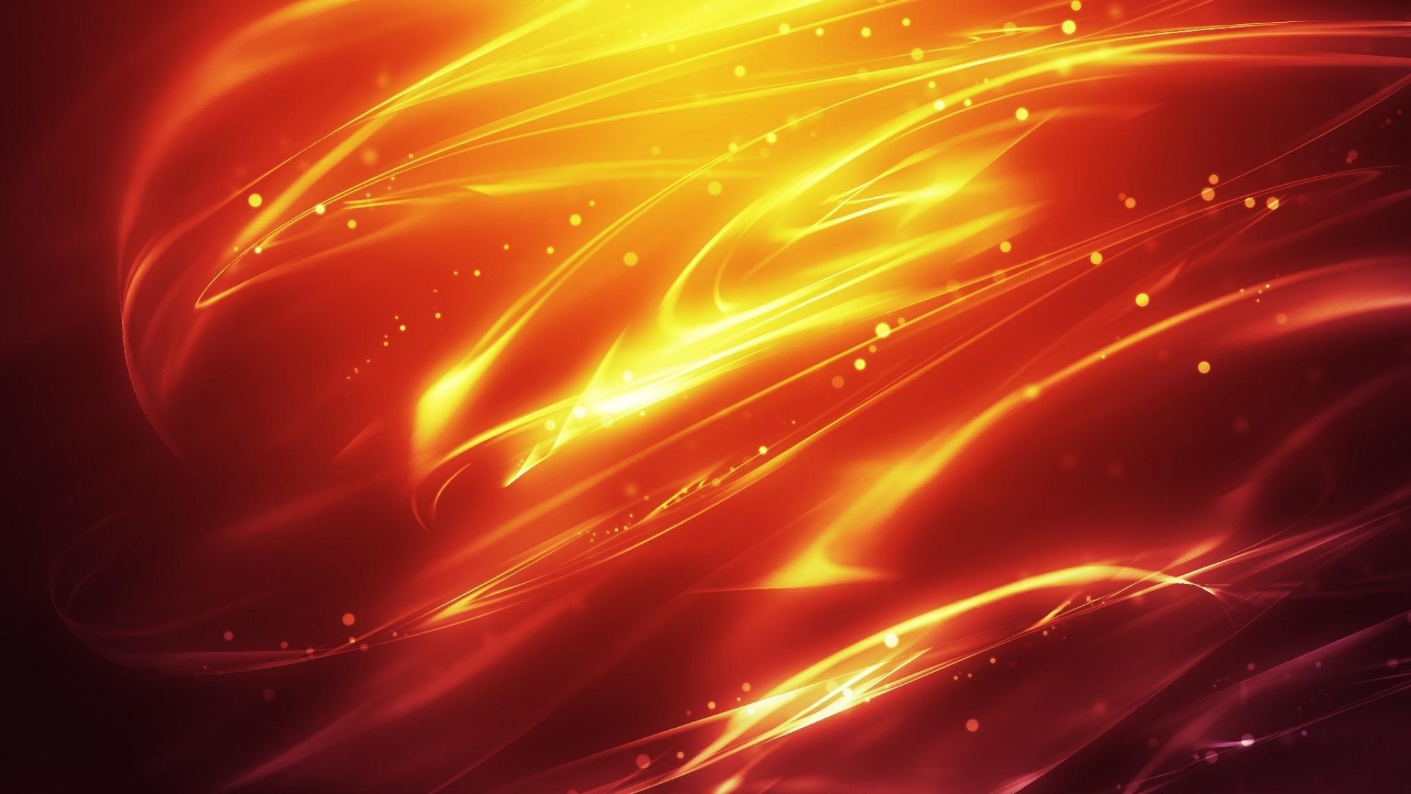 Wallpaper fire, background, dark, lines