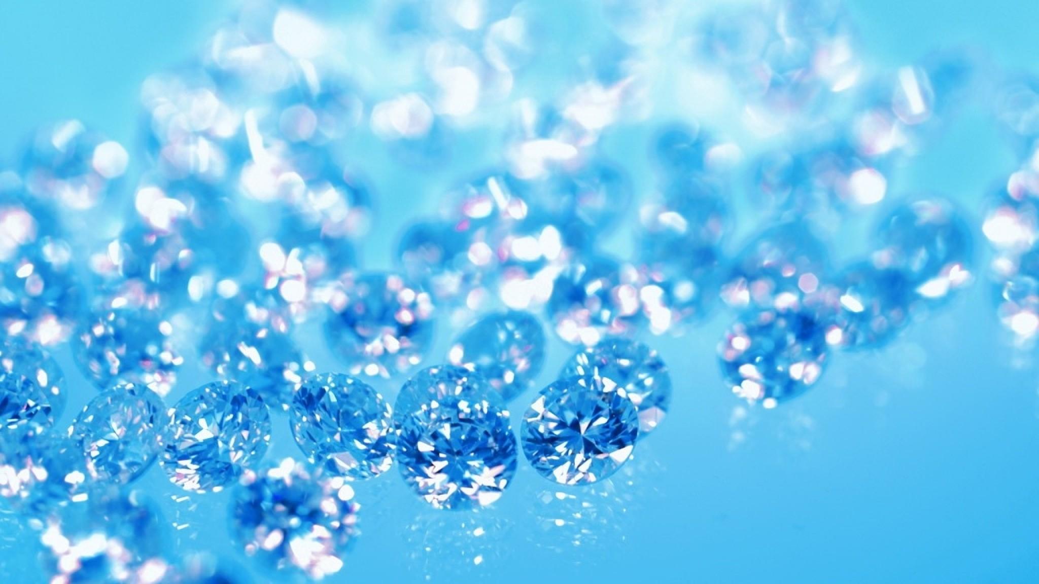 Wallpaper ice, drops, glitter, diamonds