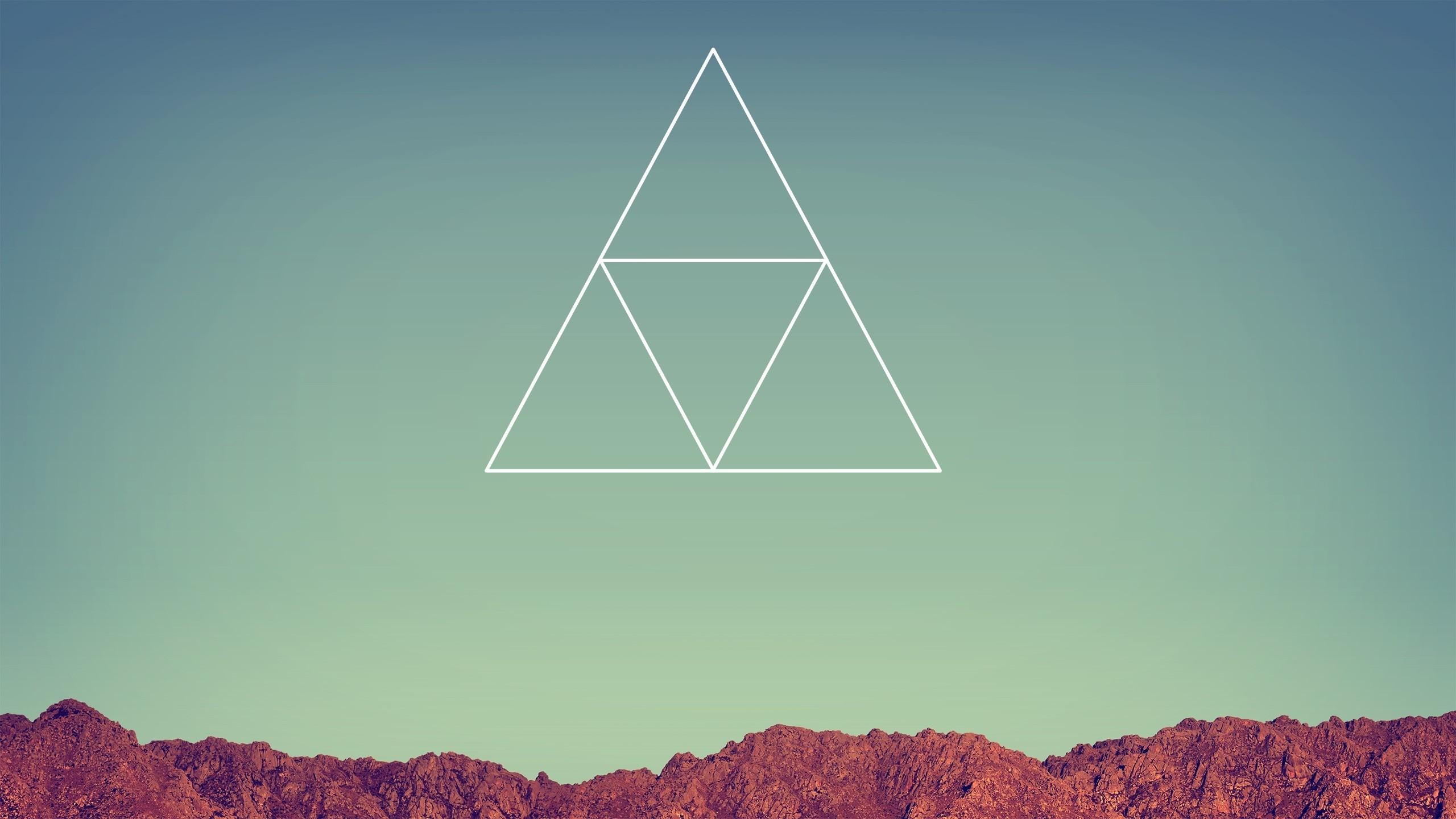 Hipster Triangle Wallpaper HD For Desktop