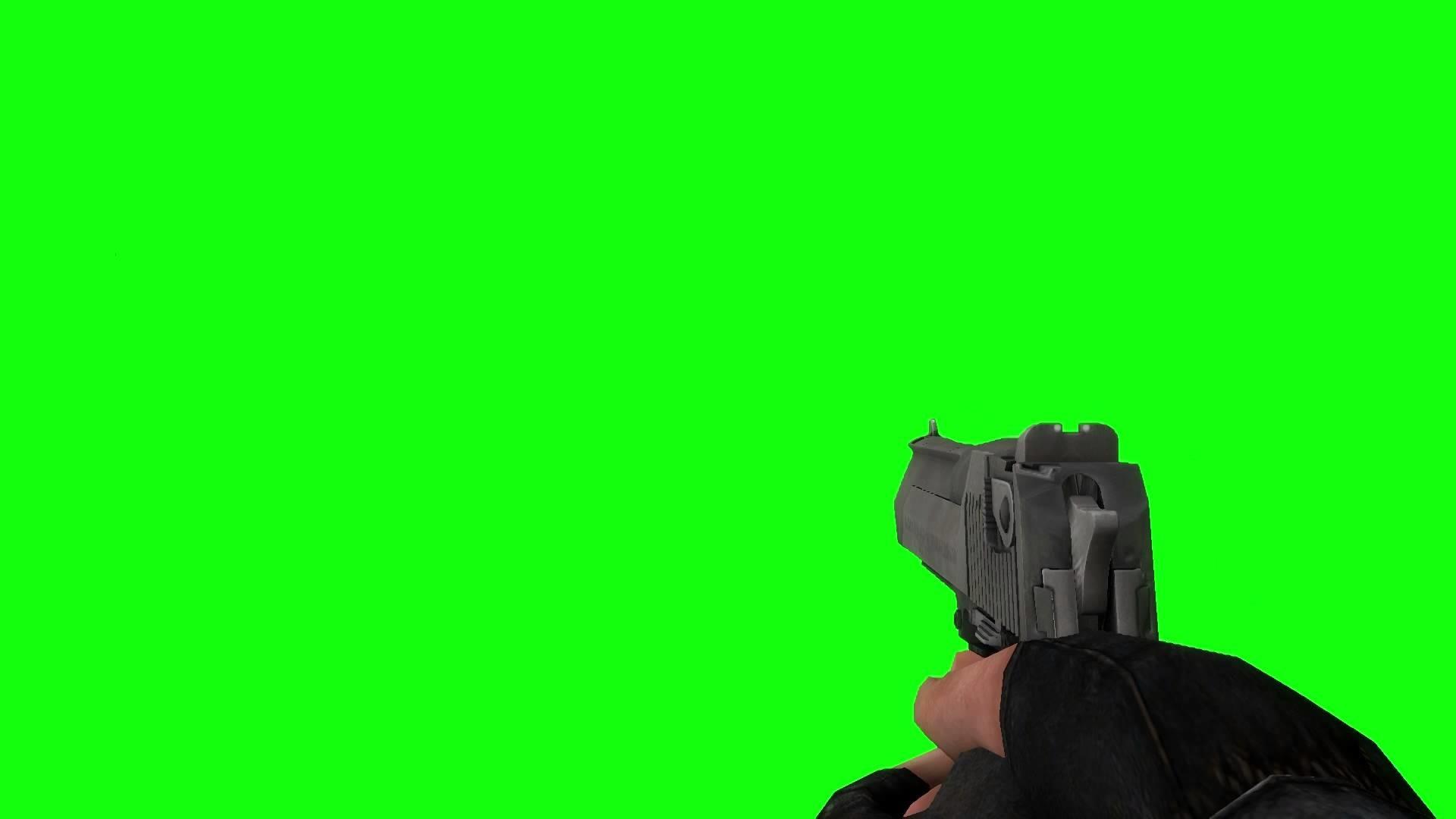 Counter-Strike Desert Eagle (Deagle) greenscreen dank meme MLG .