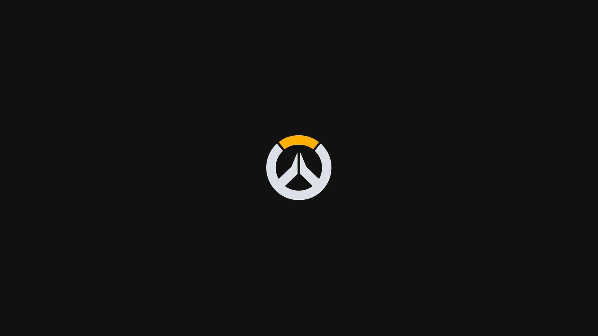Video Game – Overwatch Logo Minimalist Wallpaper