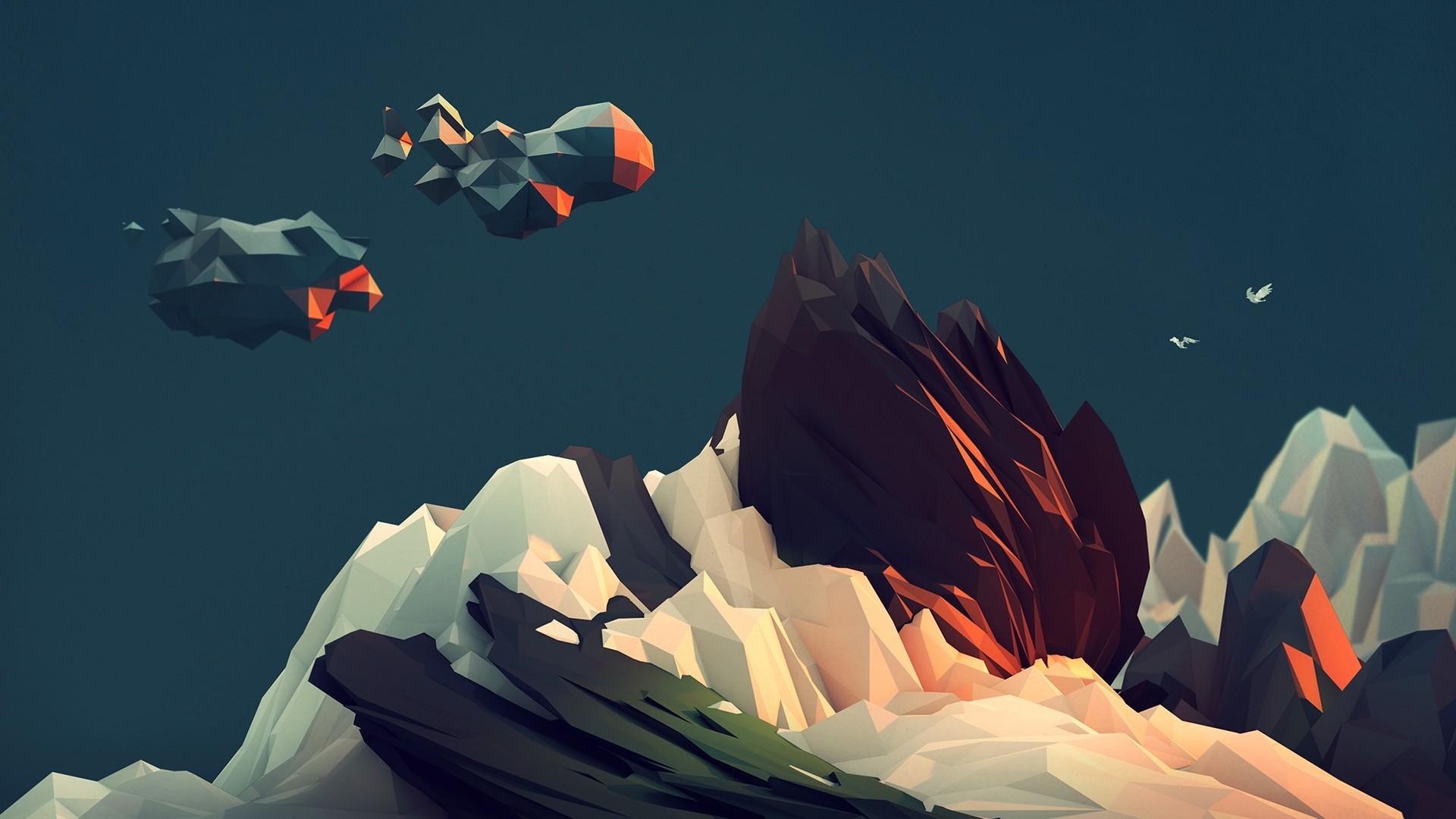 abstract minimalistic artwork Tim Reynolds Timothy J. Reynolds /  Wallpaper