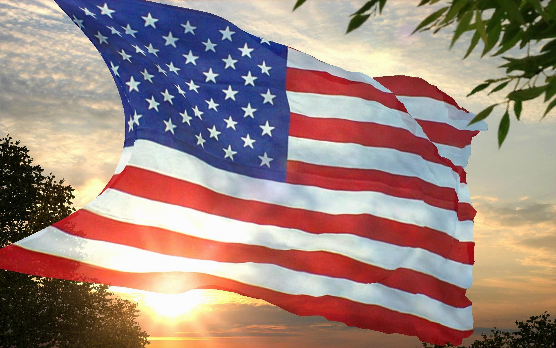 American-Flag-Sunshire-Images