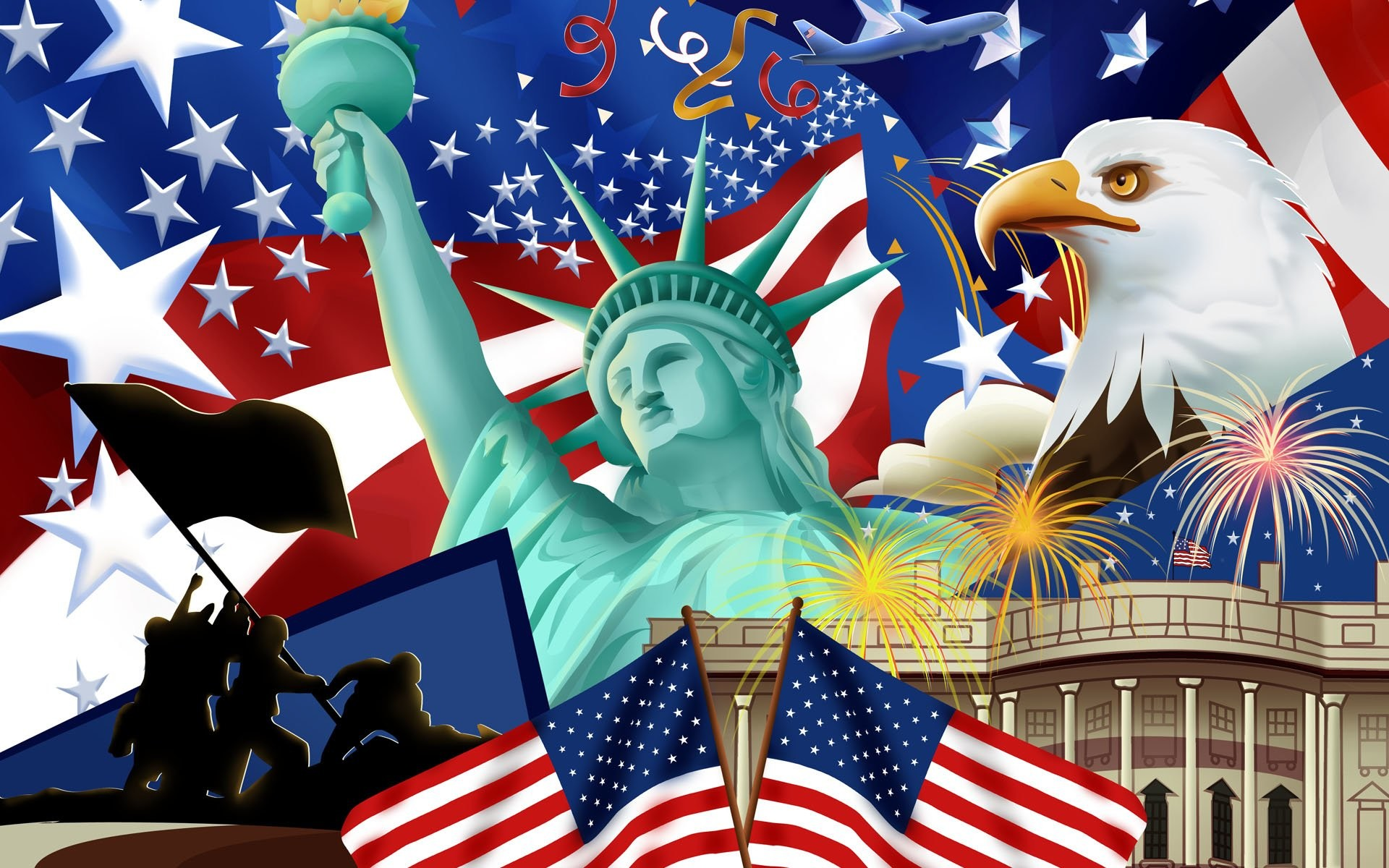 HD Wallpaper | Background ID:476788. Man Made American Flag