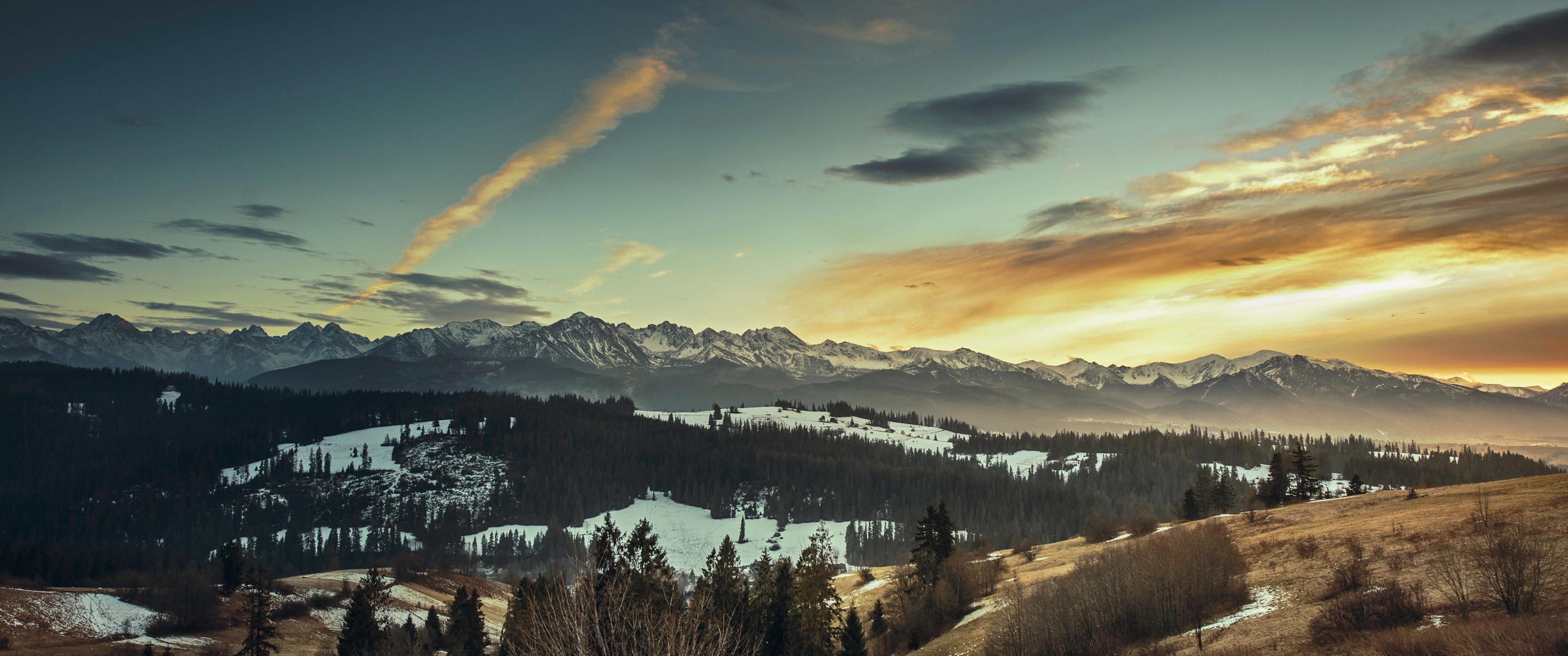 21:9 Ultrawide HD Wallpaper (3440×1440) – December's Sunrise