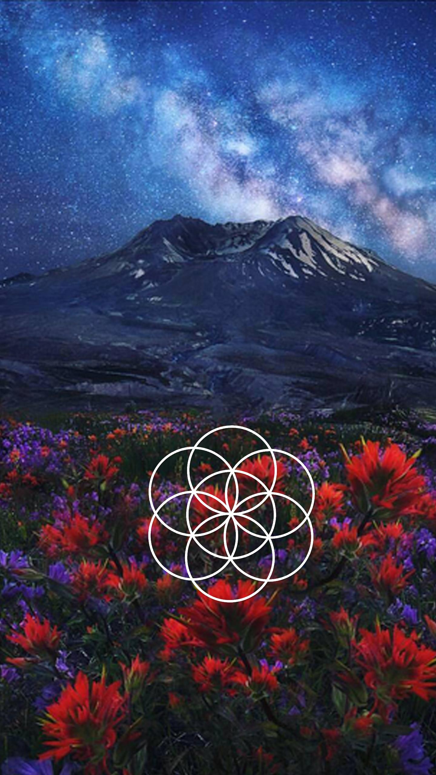 Sacred Geometry Galaxy S7 Wallpaper – image #807928