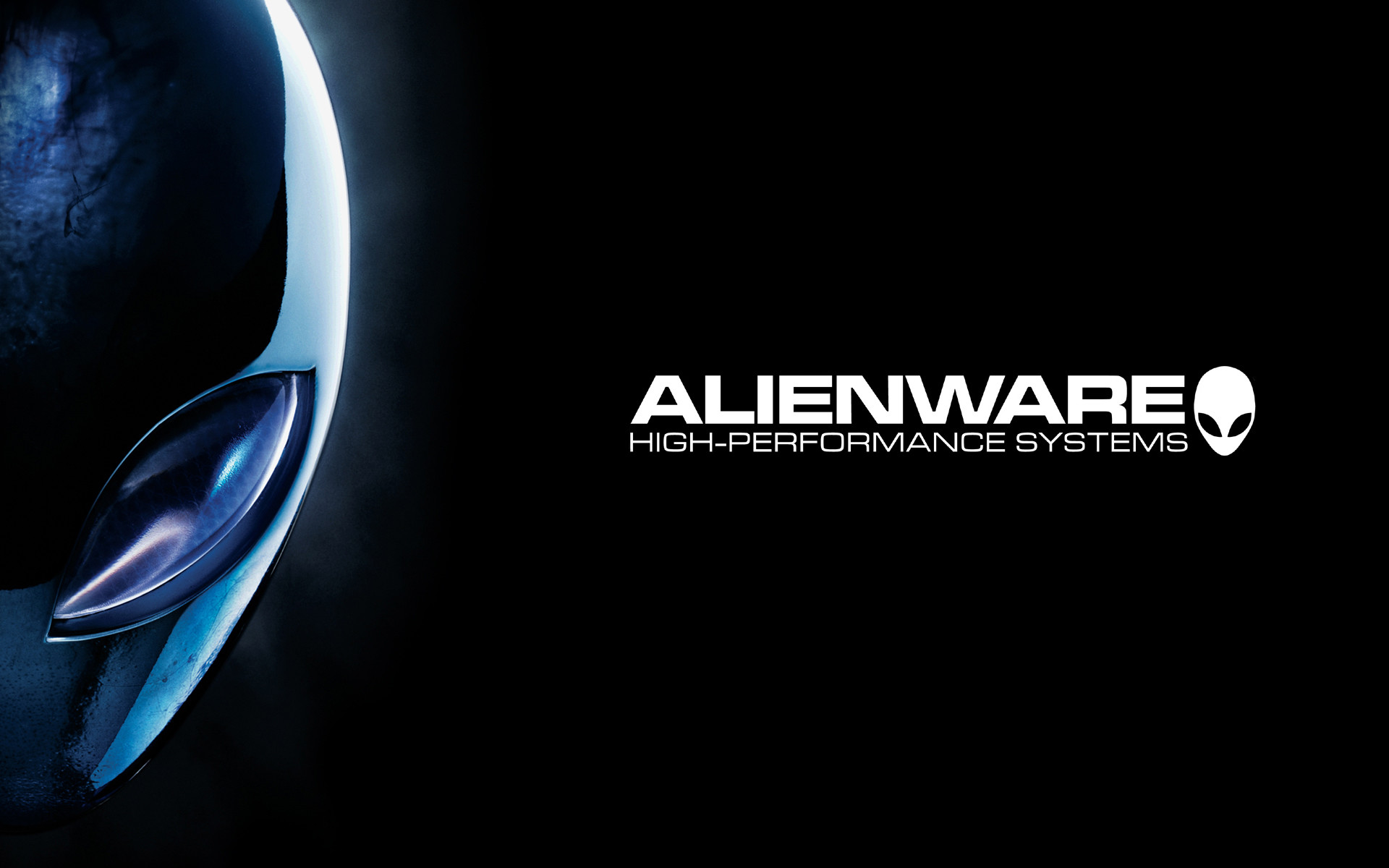 Alienware Desktop Background High Performance Systems Blue Head 1920×1200