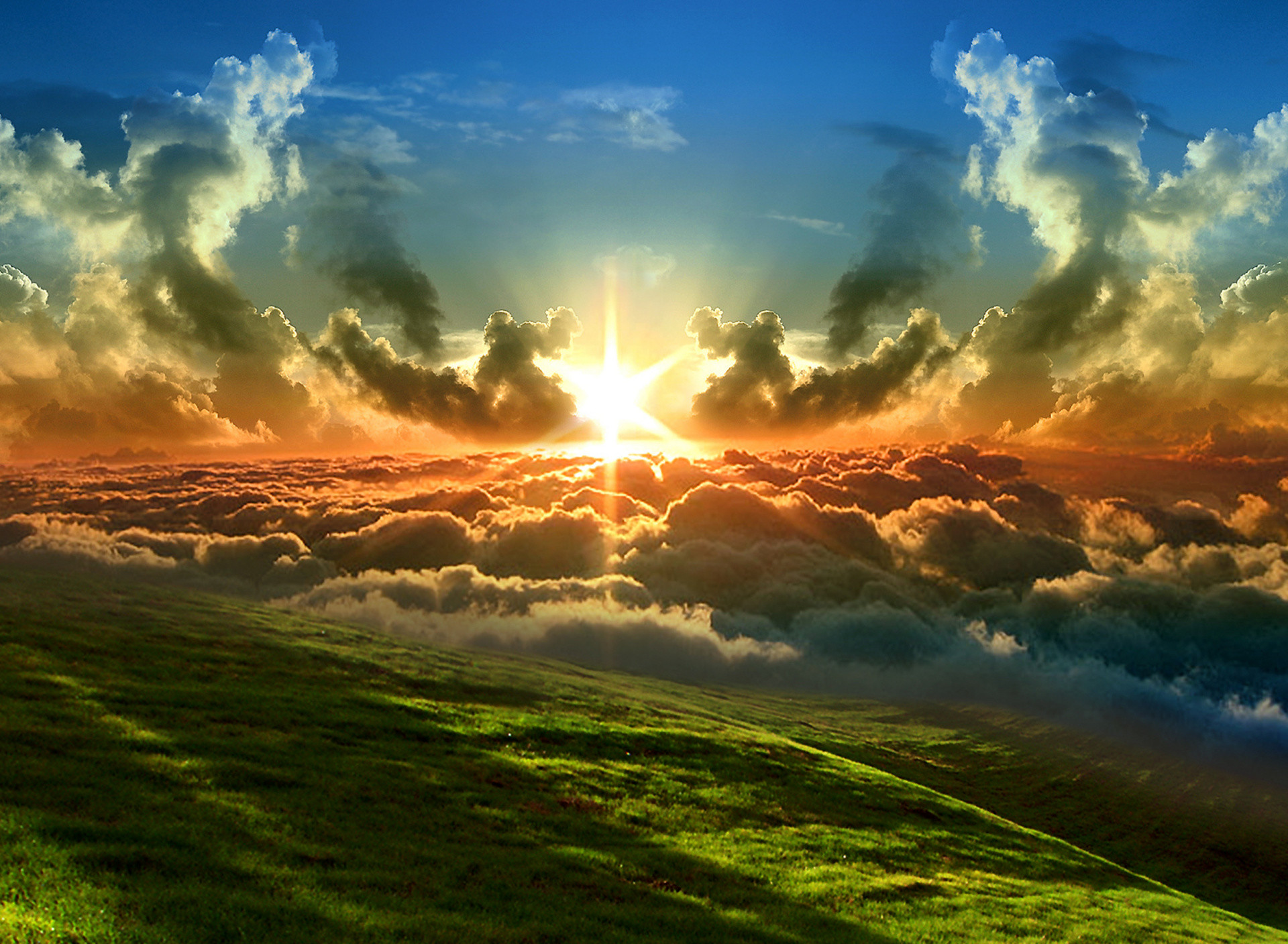 Sunrise free Screensaver wallpaper