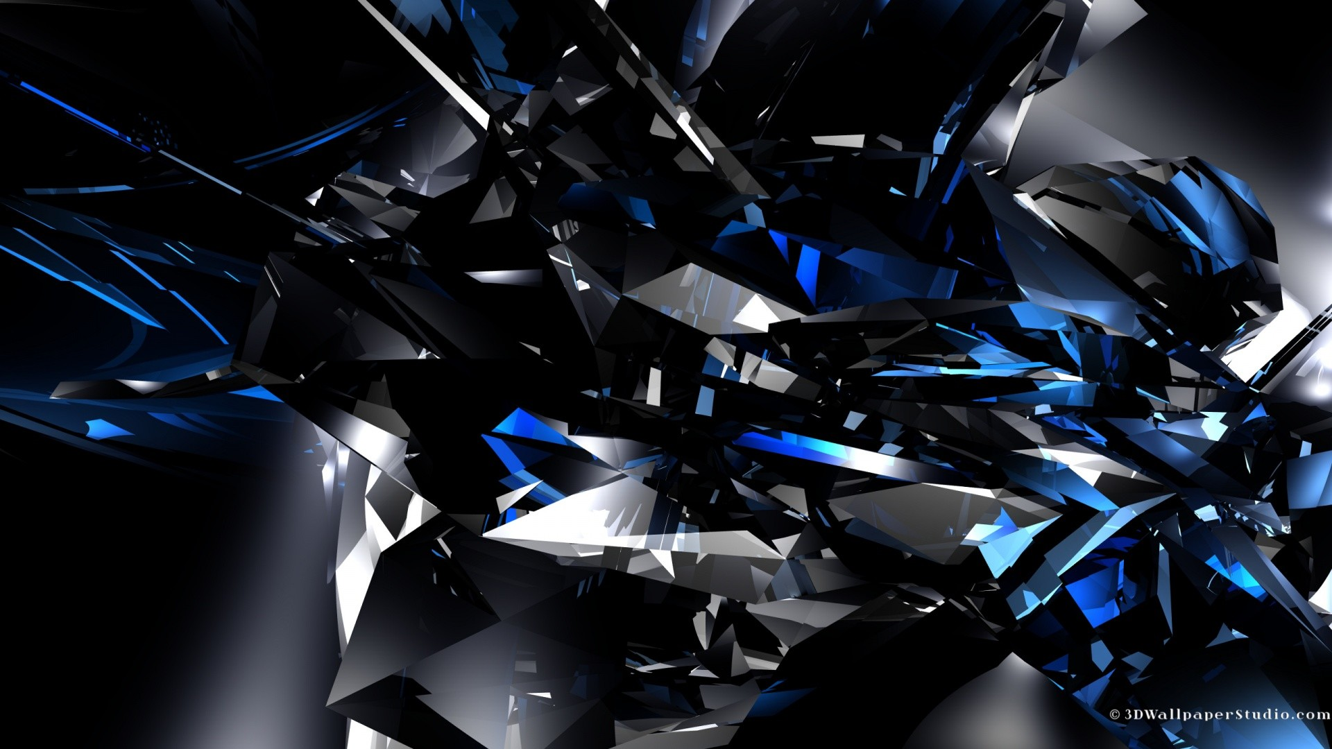 3d Blue Abstract Wallpaper | Abstract Wallpaper HD