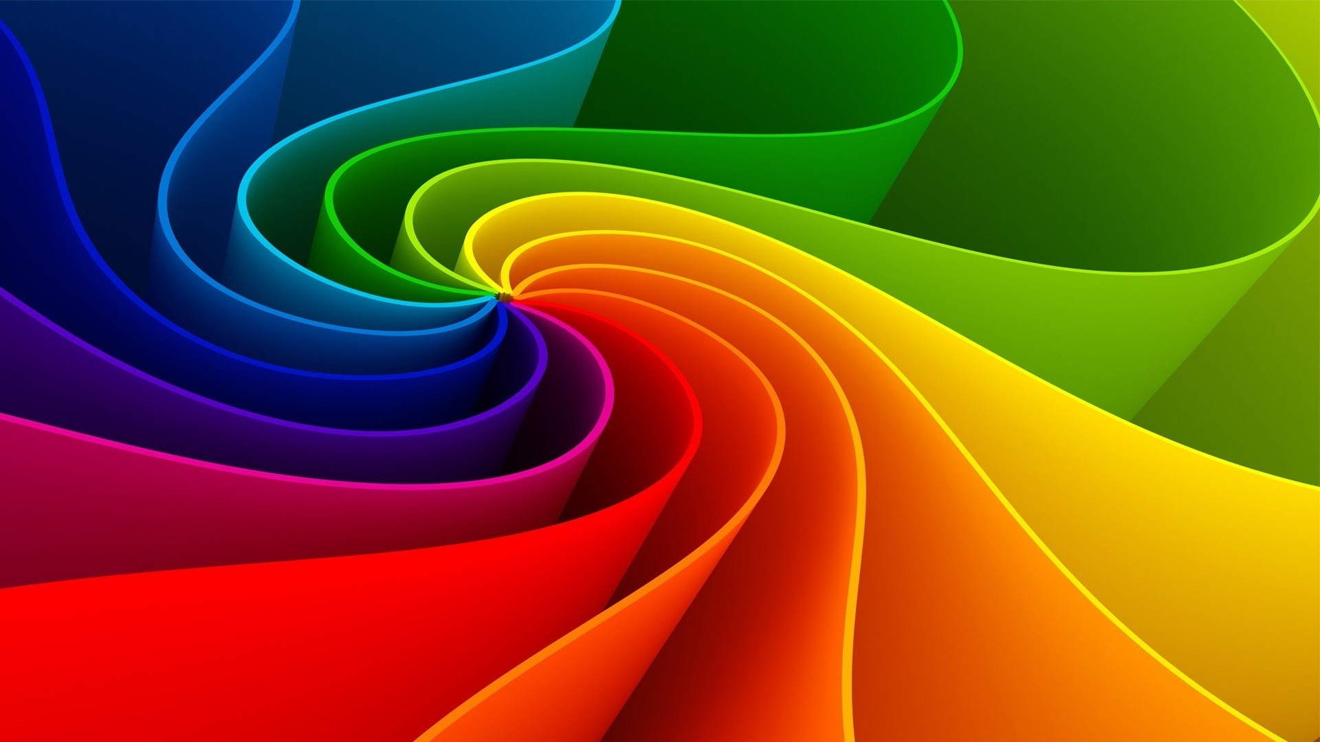Abstract rainbow wallpapers hd wallpaper 3d abstract wallpapers