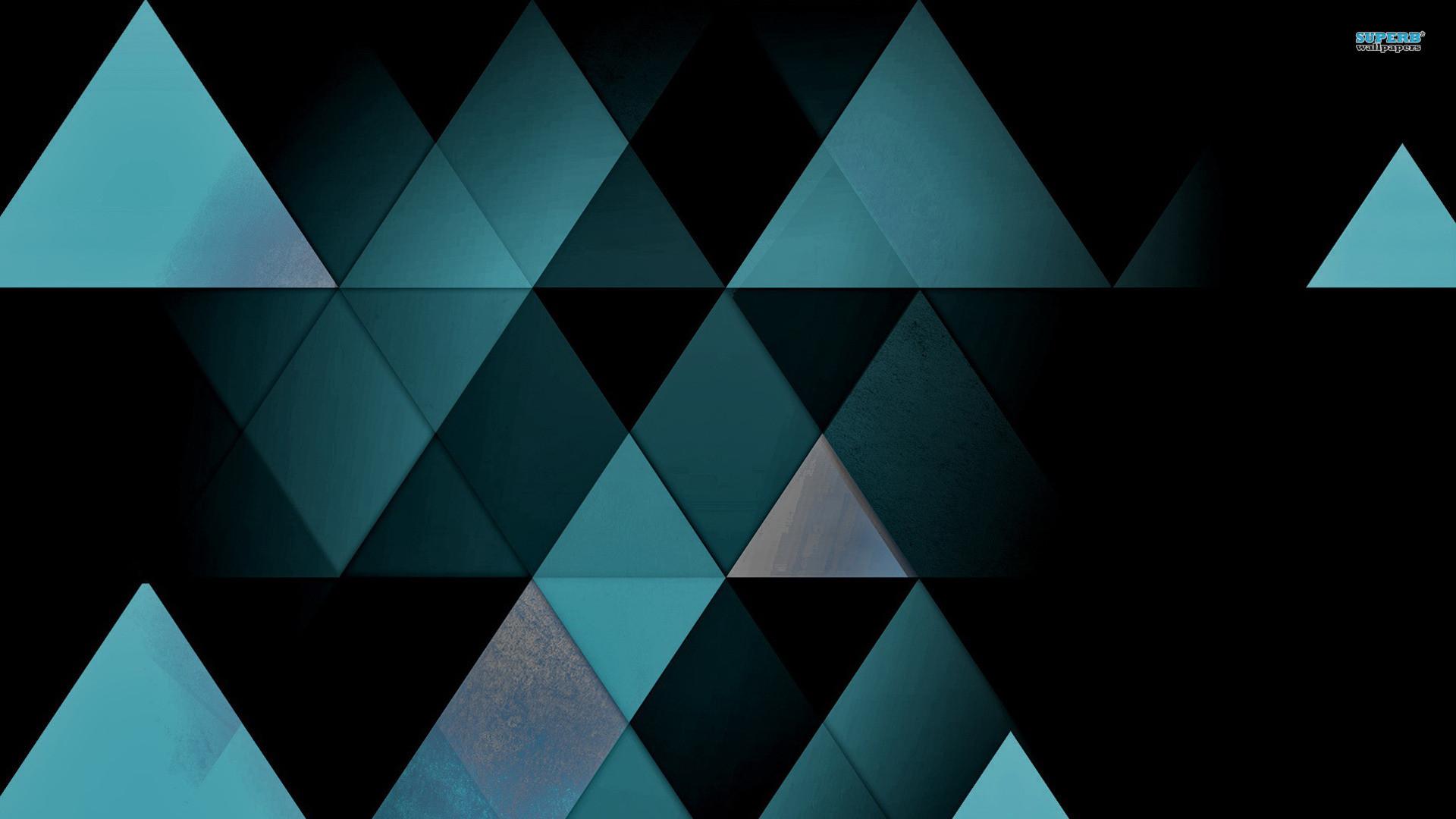 3D Triangle Wallpaper. 1920×1080