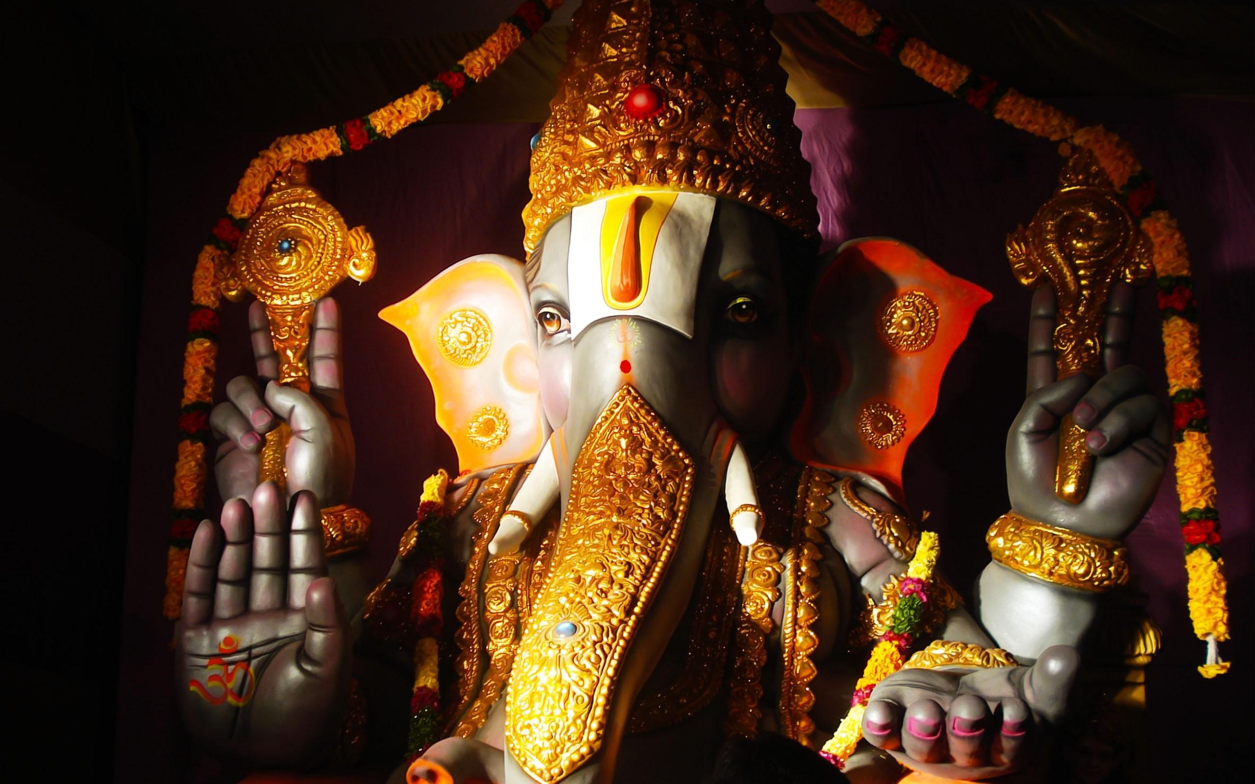 Lord Ganesha Ganapati Vinayaka Hindu God HD 2017 4k wallpaper