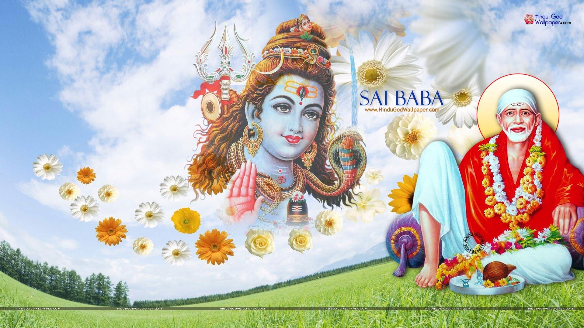 Download Sai Baba Wallpapers – Sai Baba Wallpapers, Sai Wallpaper, Shirdi  Sai Baba, Sathya Sai Wallpapers. | Sai Baba Wallpapers | Pinterest | Sai  baba