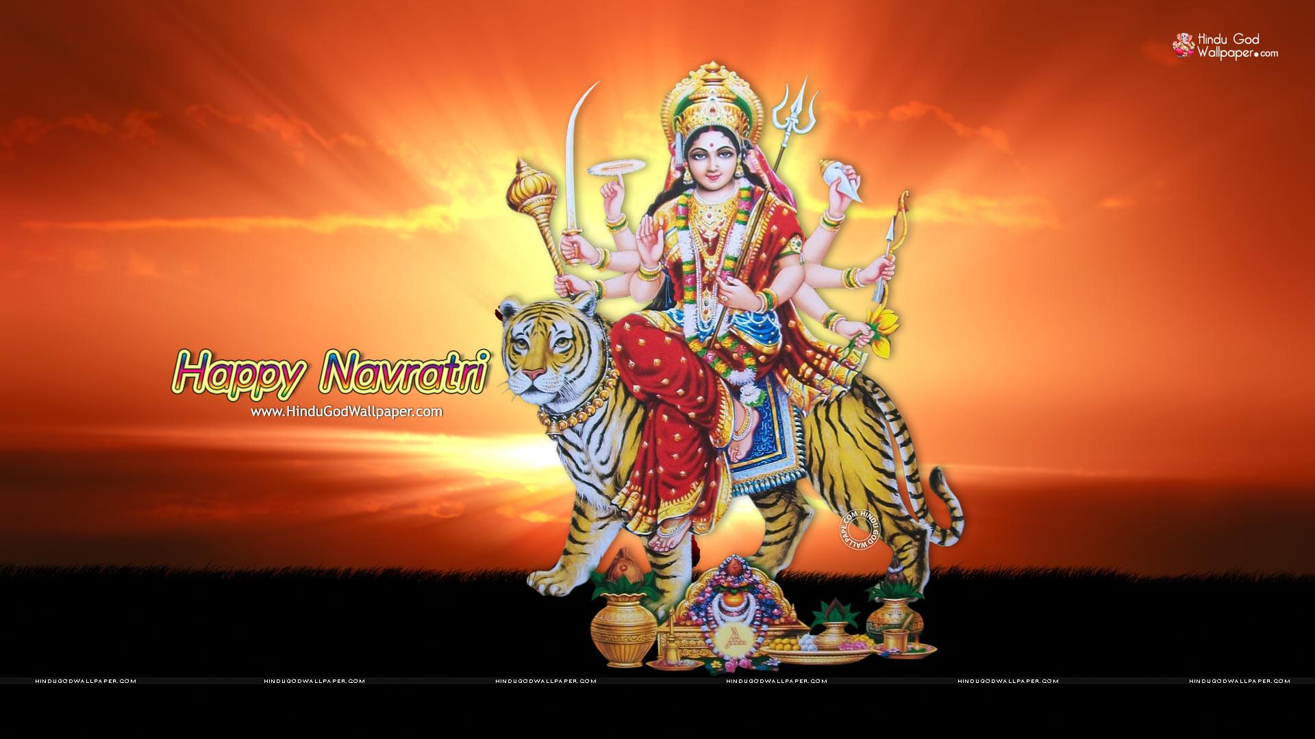 Navratri HD Wallpaper 1080p
