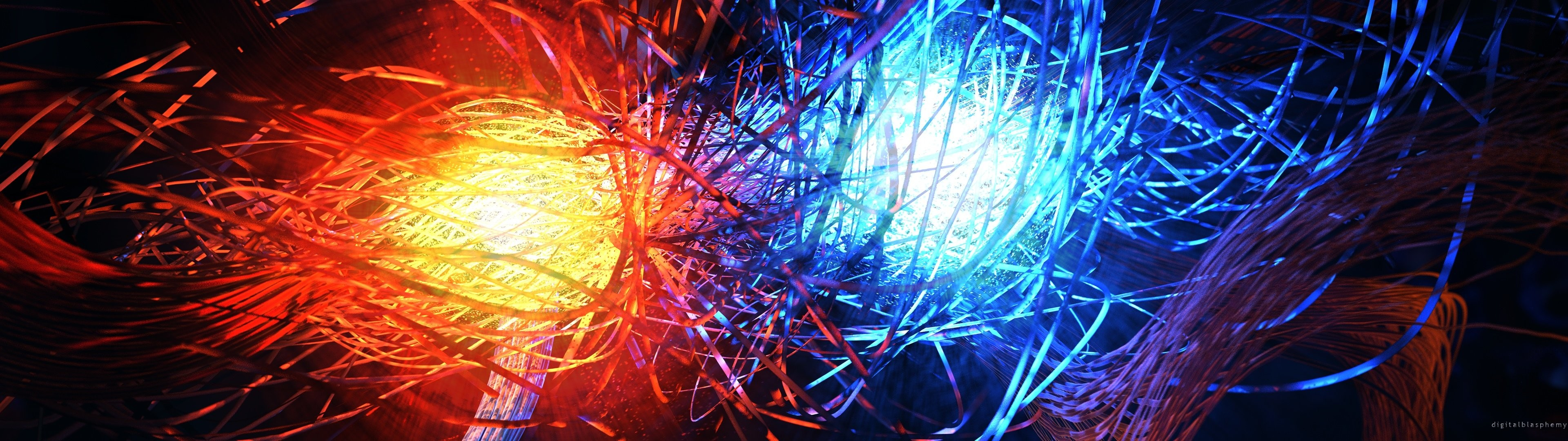 Dual monitor screen multi multiple abstract wallpaper | | 514408  | WallpaperUP