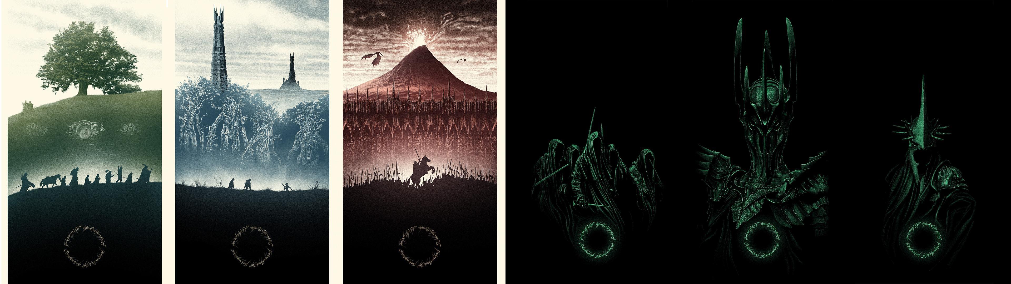 Marko Manev – LotR Trilogy Dual Screen Wallpaper – …