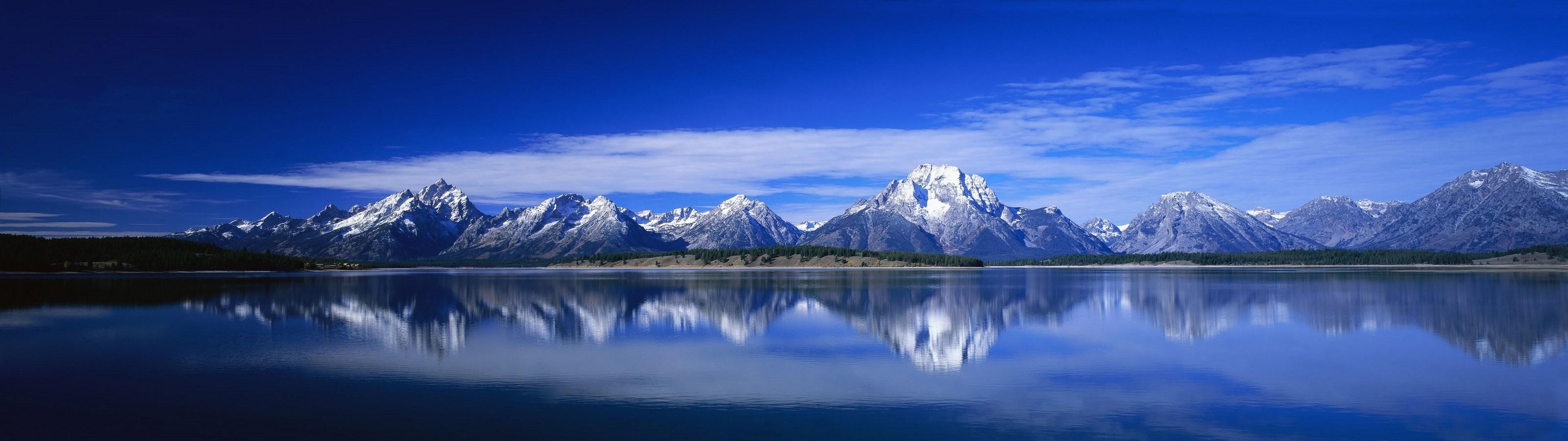 Mountains Dual Screen Wallpaper | | ID:53326