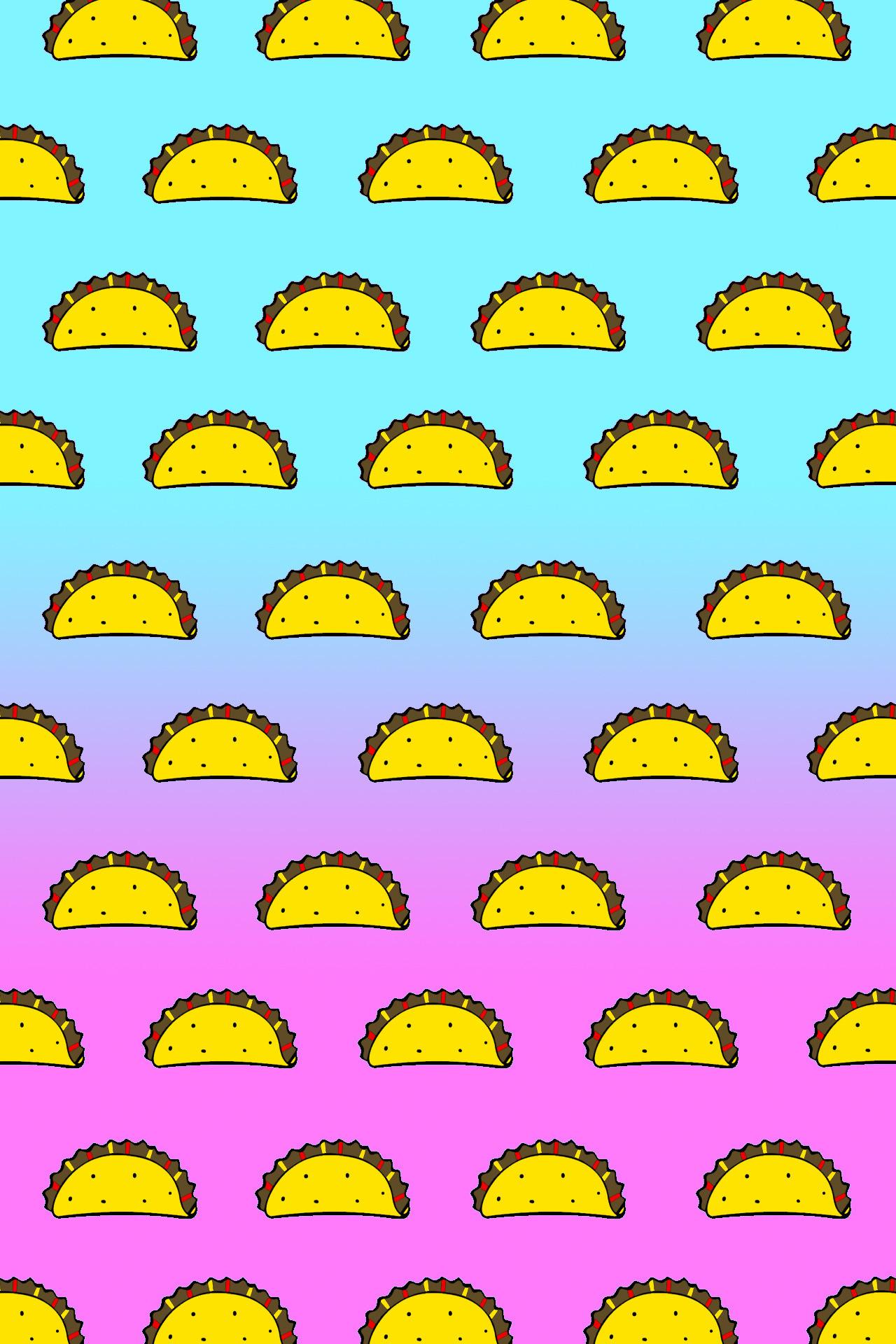 Taco Gradient Wallpaper