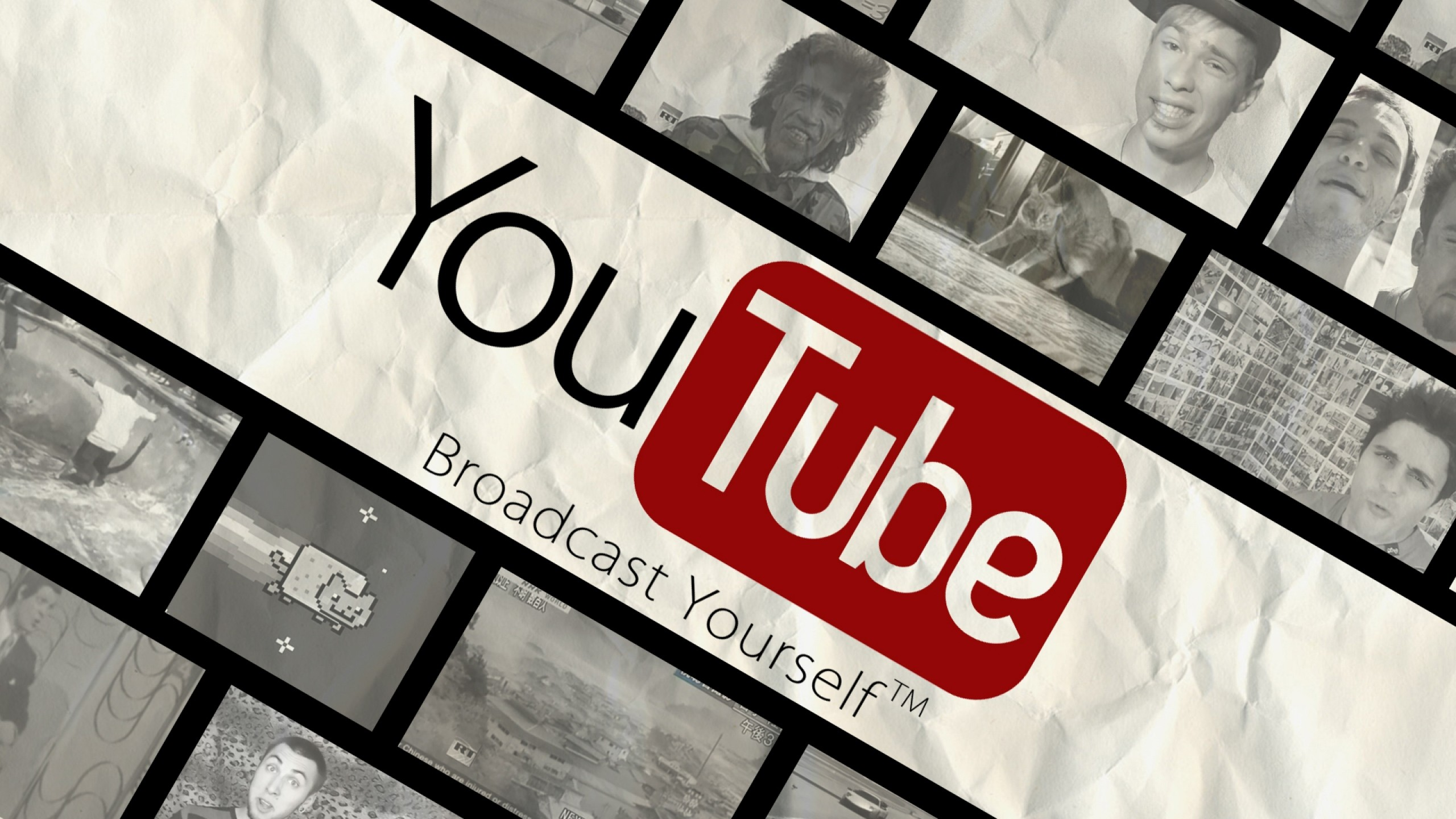 Preview wallpaper youtube, video, site, red 2560×1440