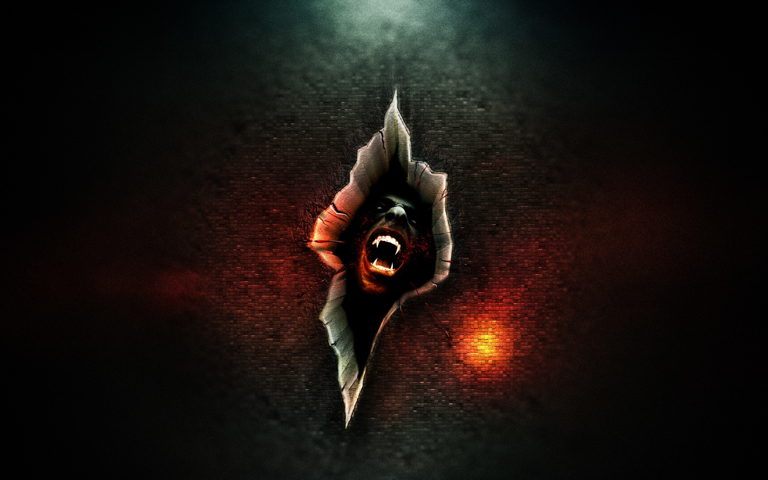 2560×1440 Vampire Fantasy Art