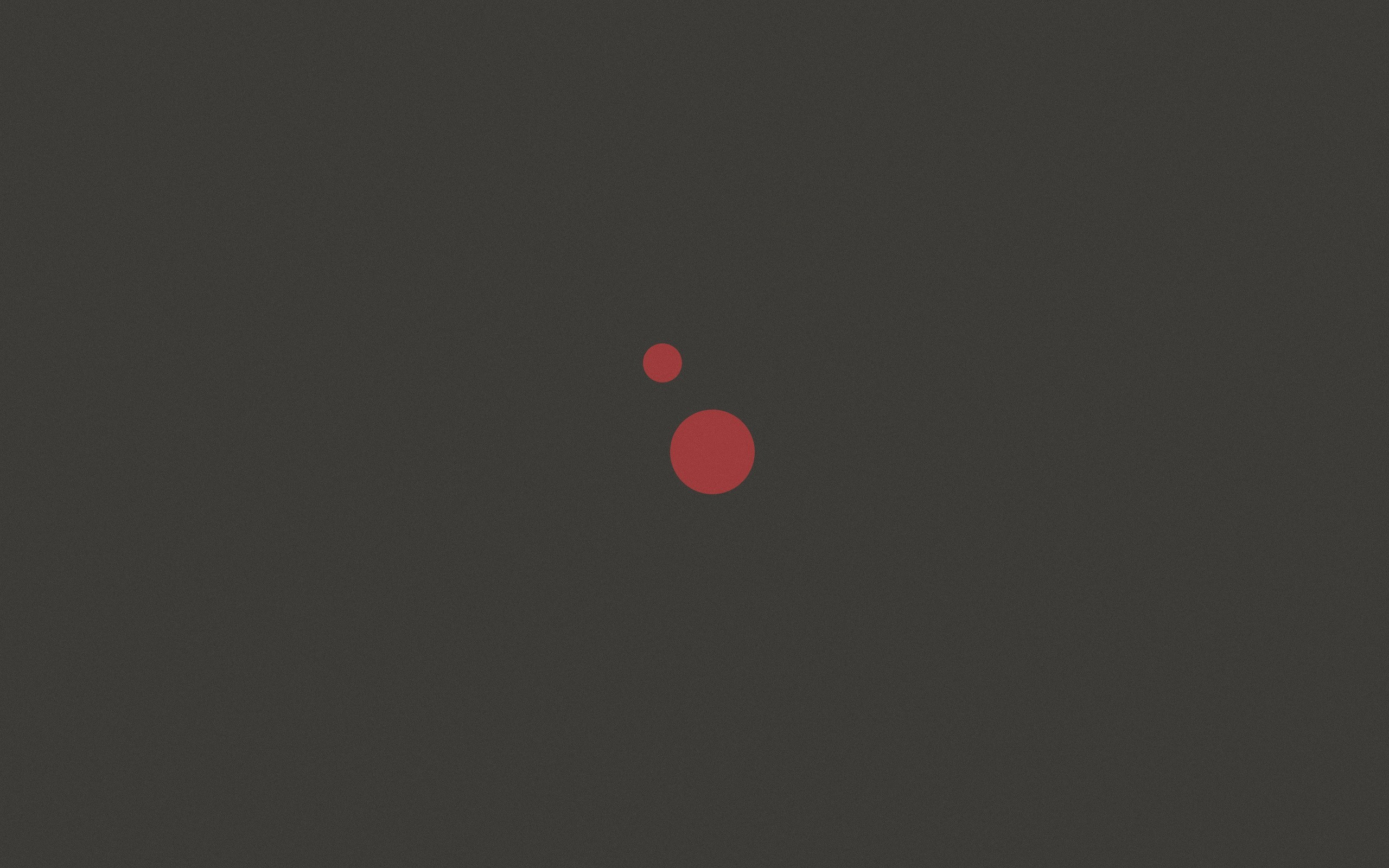2560×1440 Pink Dots on Gray Background