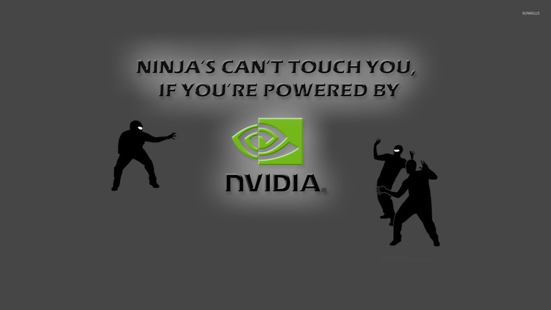 Ninjas vs Nvidia wallpaper · Memes · Nvidia · Ninja · …