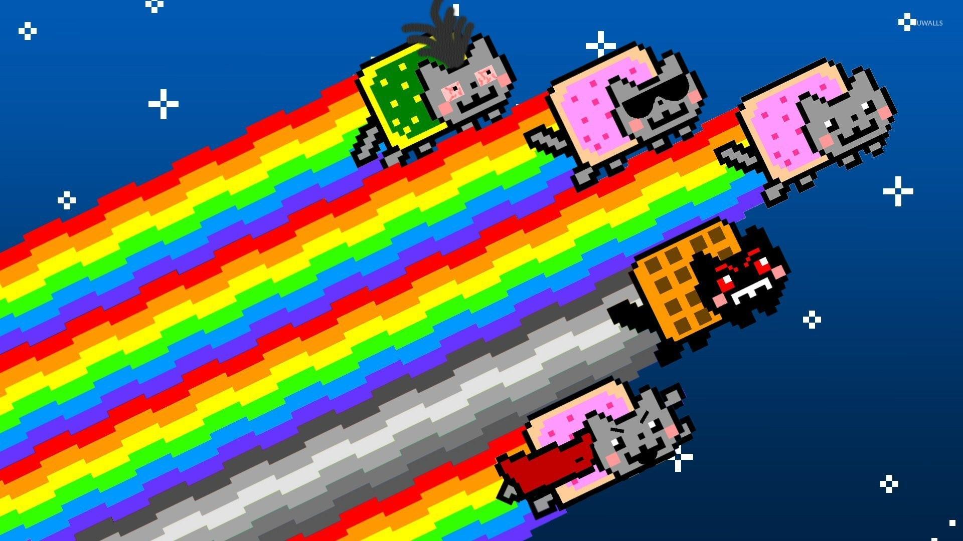 Nyan cats wallpaper · Memes · Nyan Cat · …
