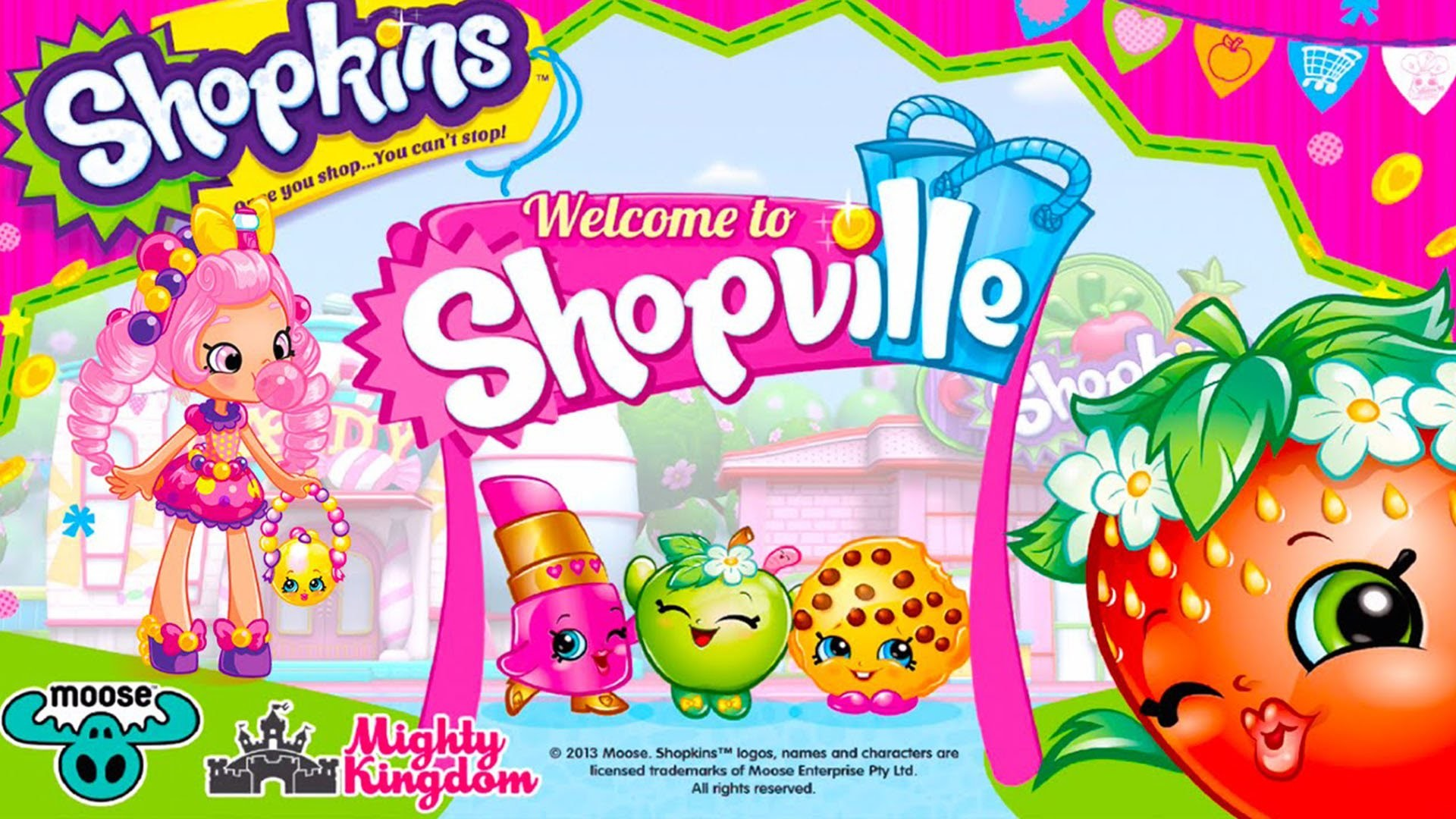 Shopkins: Welcome to Shopville – New Petkins Park Update! – Best App For  Kids – YouTube