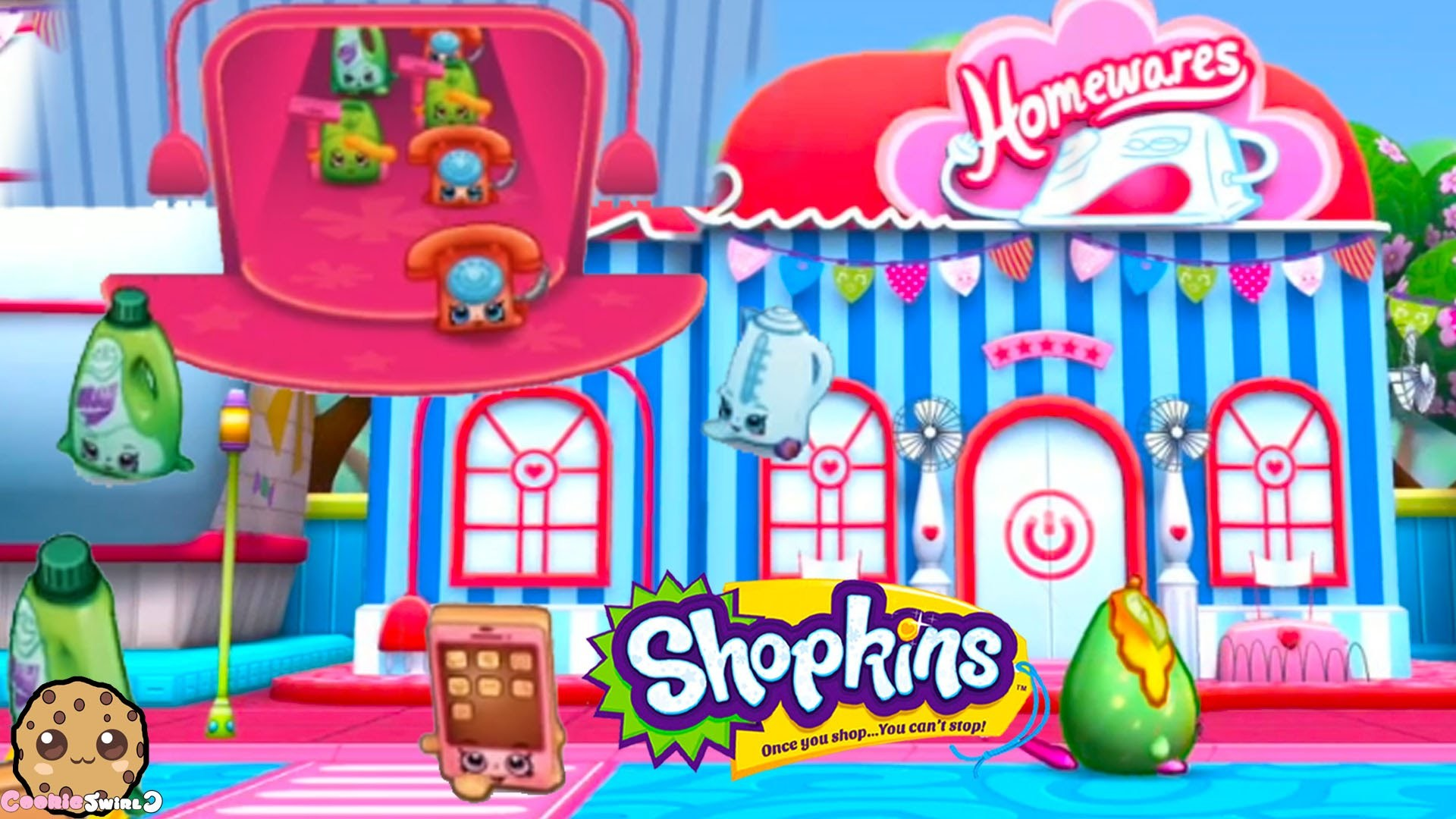 Play Welcome To Shopville App Lost Shopkins Homewares Game – Cookieswirlc  Video – YouTube
