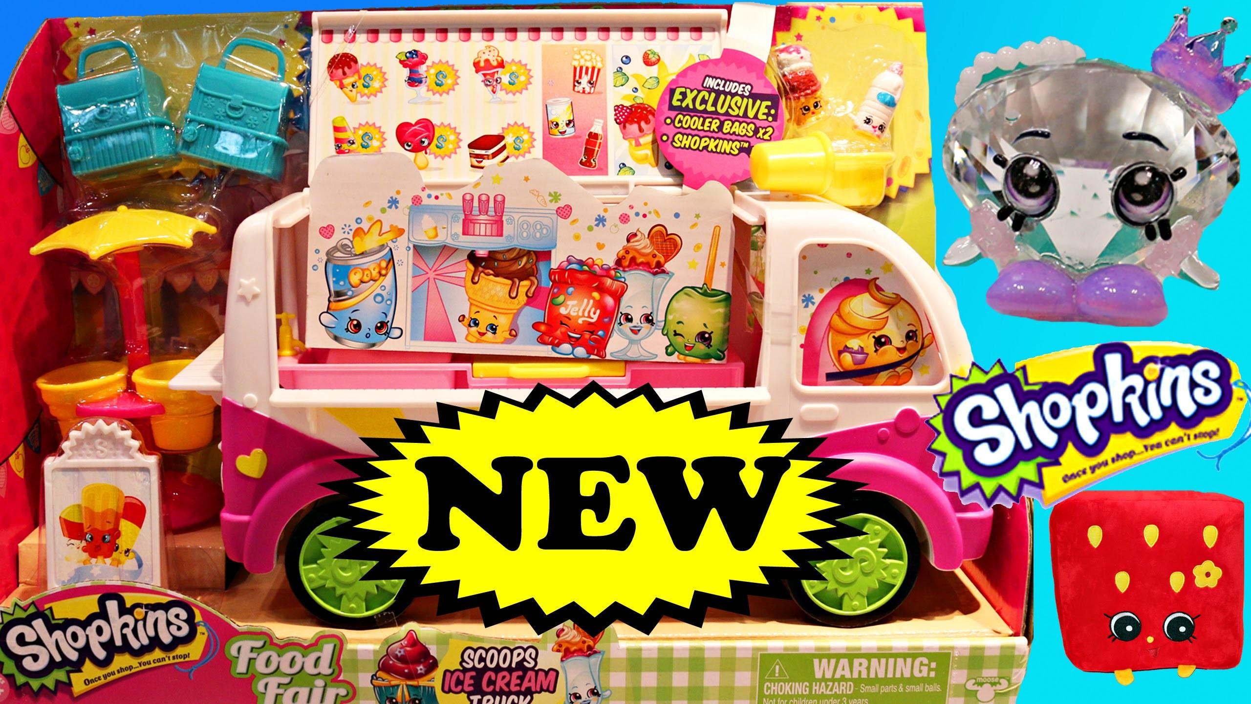 NEW SHOPKINS SEASON 3 Ice Cream Playset Special Edition Toys and New Ugglys  DisneyCarToys Toy Fair – YouTube