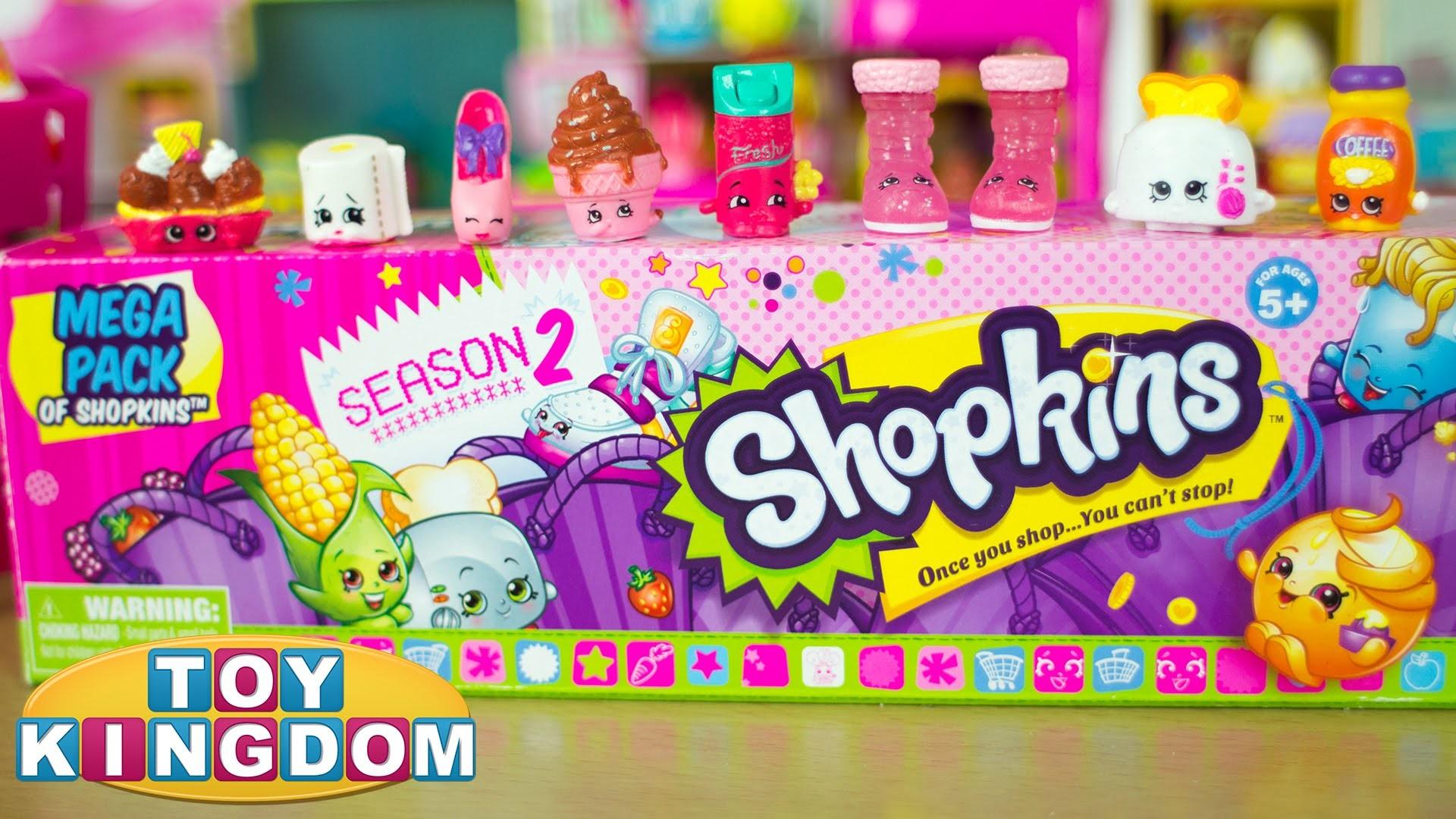 Shopkins Season 2 Mega Pack Opening – 20 Super Cute Shopkins Inside! –  YouTube