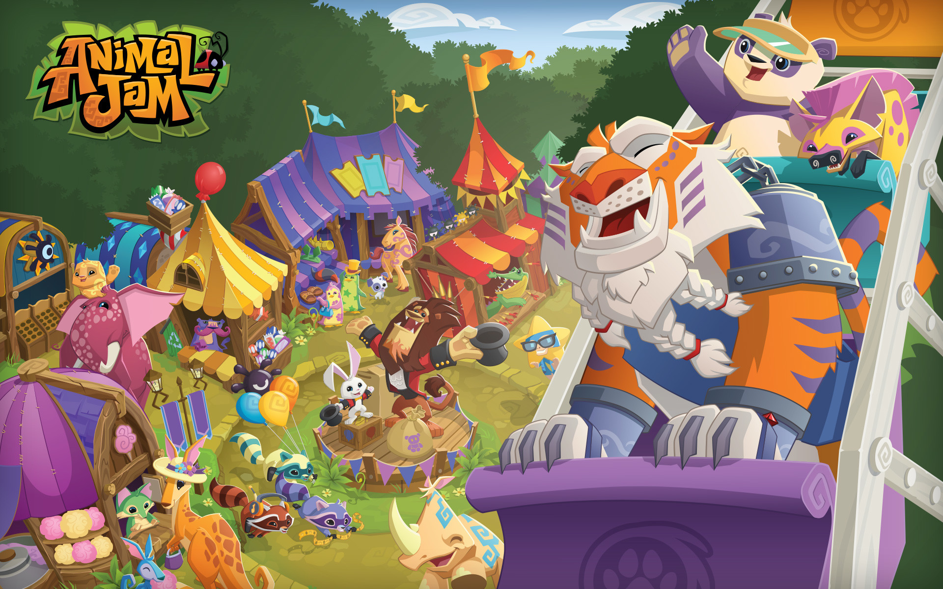 ANIMAL JAM | These neat wallpapers can be used for Bloger banners,  backgrounds .