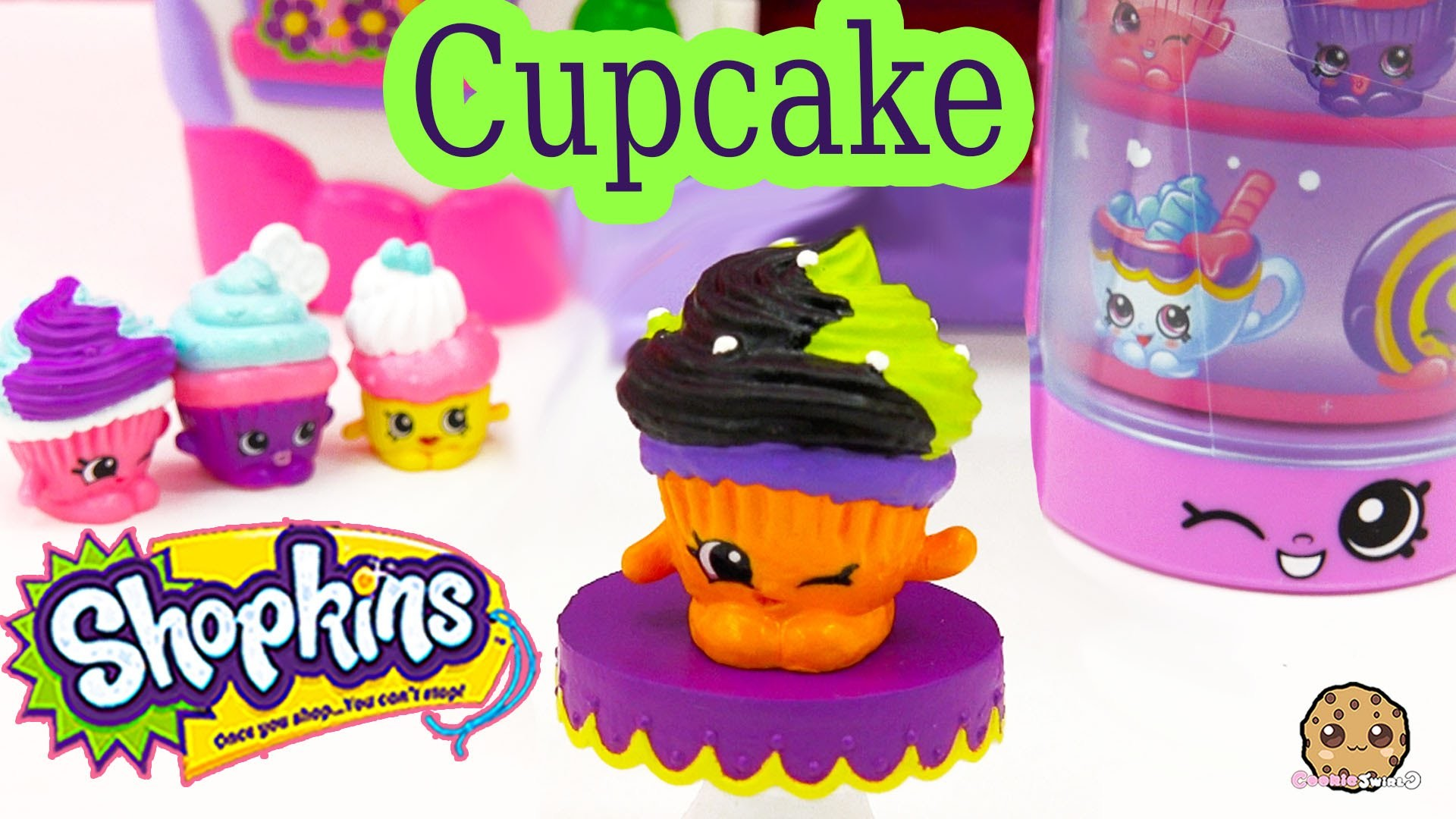 DIY Shopkins Season 3 Custom Exclusive Cupcake Halloween Inspired Painted  Craft Toy Cookieswirlc – YouTube