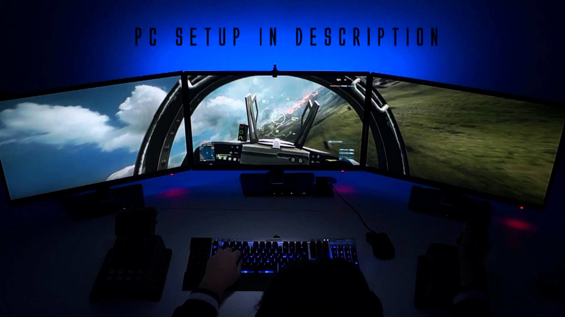 """Pilot View"" BF3 Triple Screen 5760×1080 (GTX 680 i7-2600K) – YouTube"